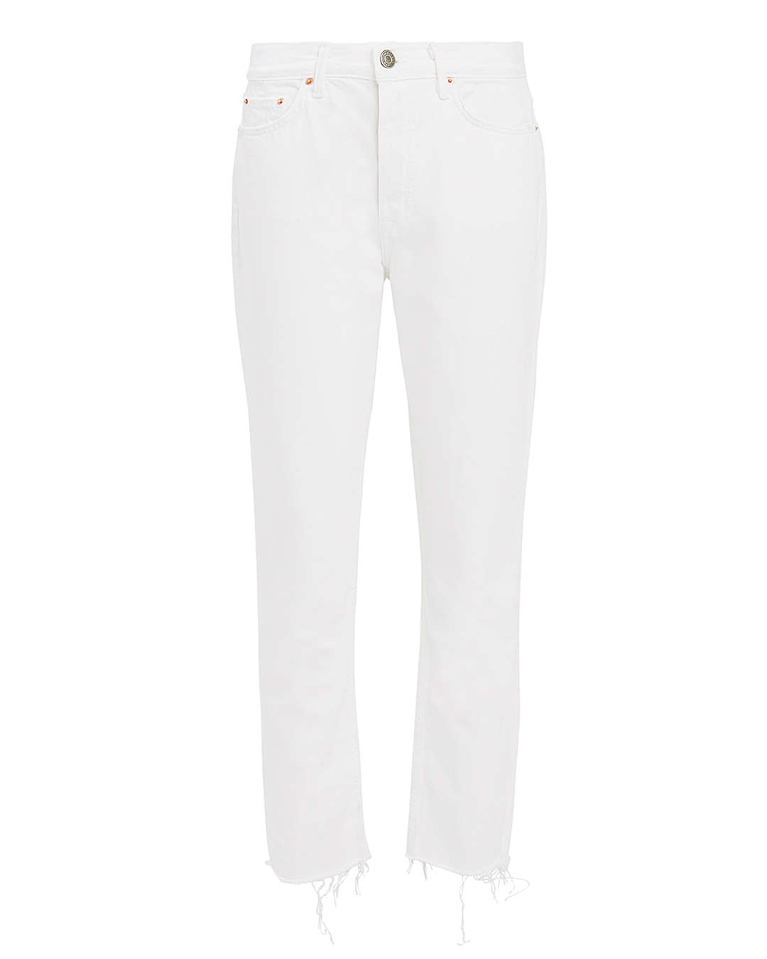 GRLFRND Karolina White Skinny Jeans