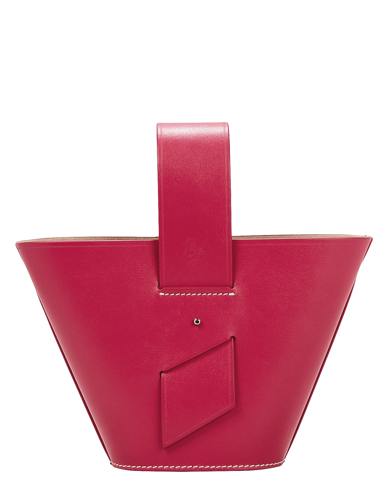 Amphora Mini Pink Crossbody Bag by Carolina Santo Domingo