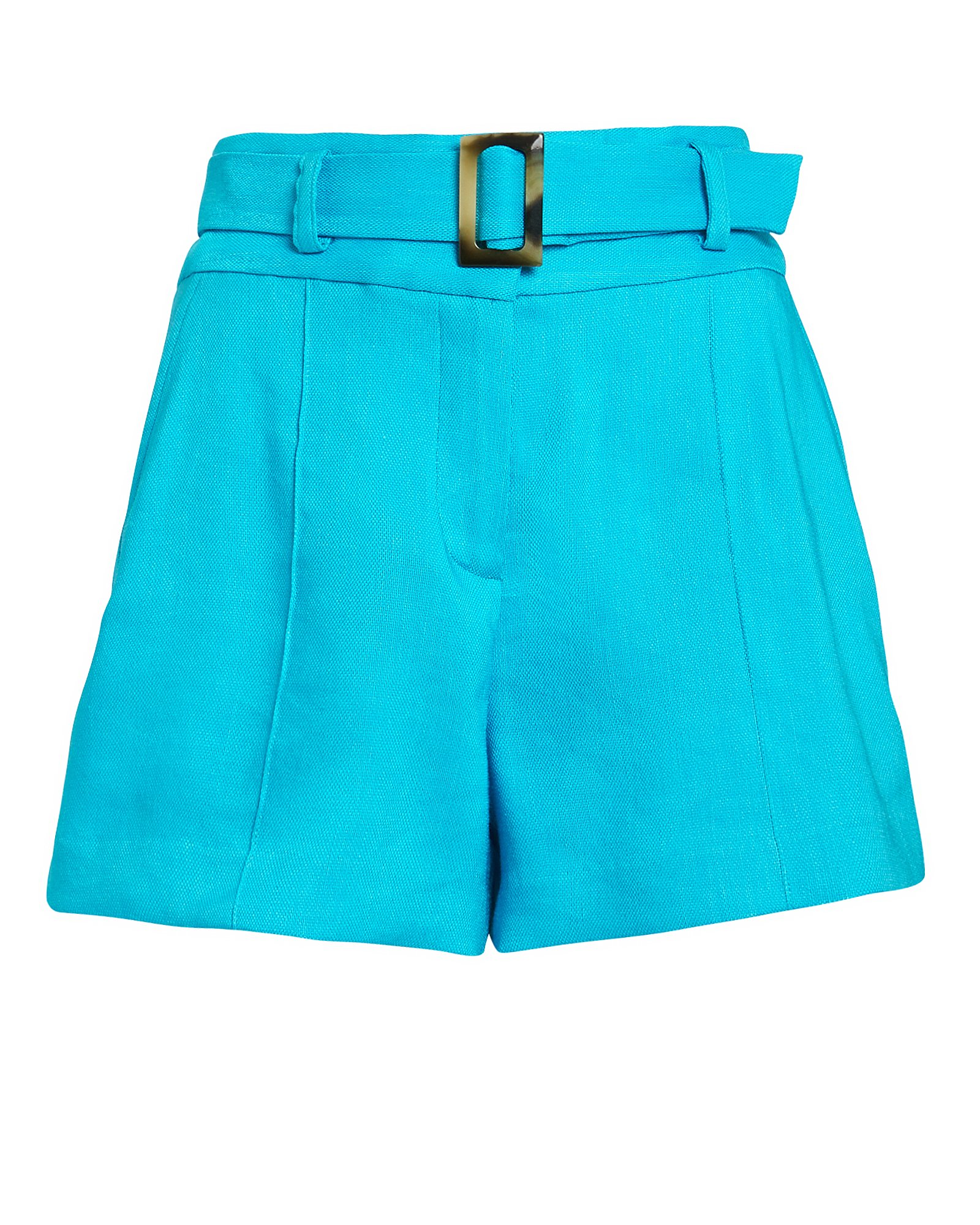 Veronica Beard Shorts VERONICA BEARD MAKAYLA BELTED SHORTS  TURQUOISE 6