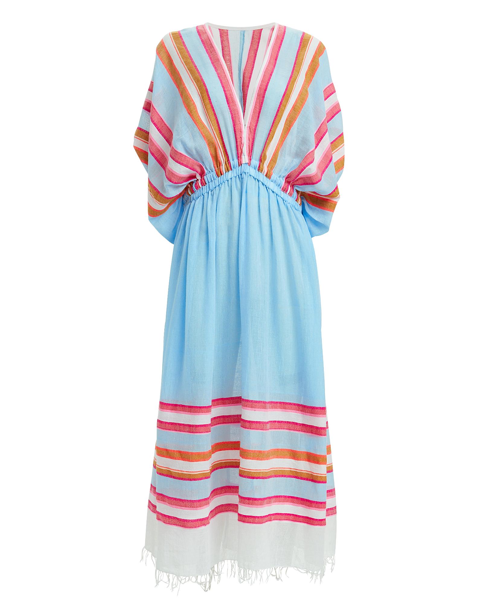 Lemlem Dresses Eskedar Striped Coverup Dress