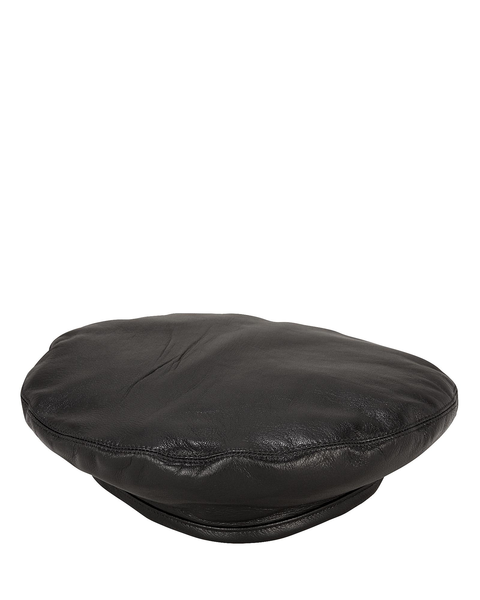 EUGENIA KIM Cher Leather Beret