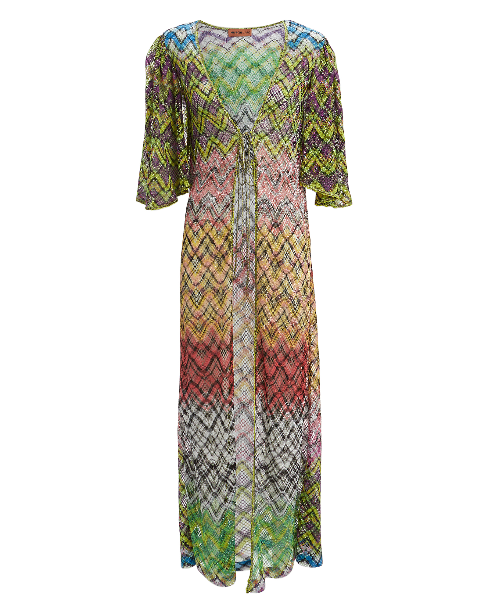 Missoni Lurex Print Maxi Cover-Up