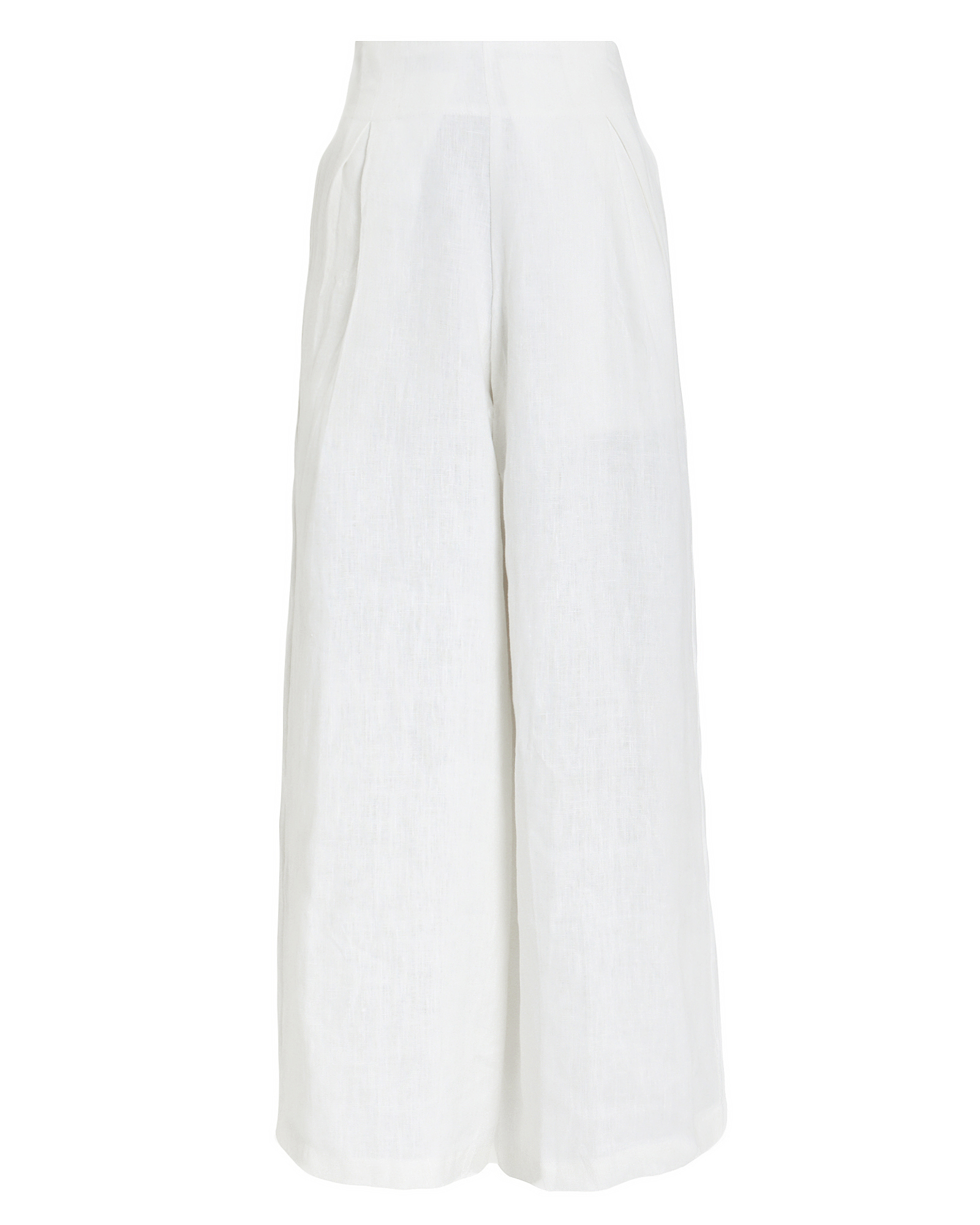 Faithfull The Brand Pants FAITHFULL THE BRAND MERIDIAN LINEN TROUSERS  WHITE P