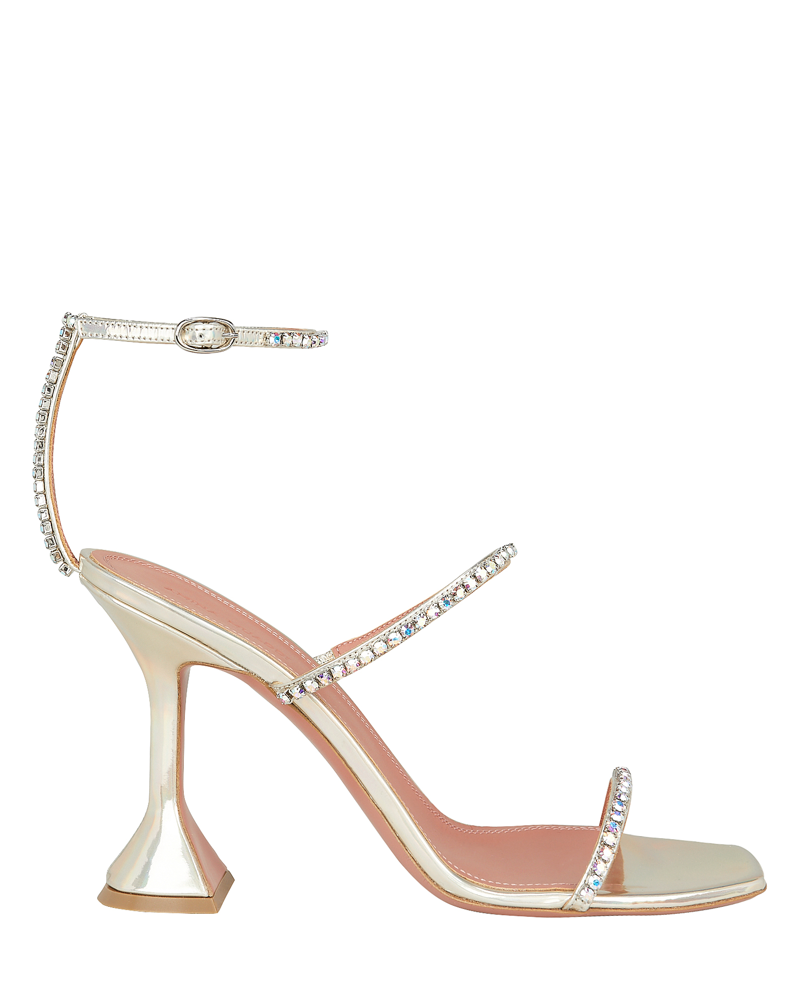 Crystal Embellished Gilda Sandals by Amina Muaddi