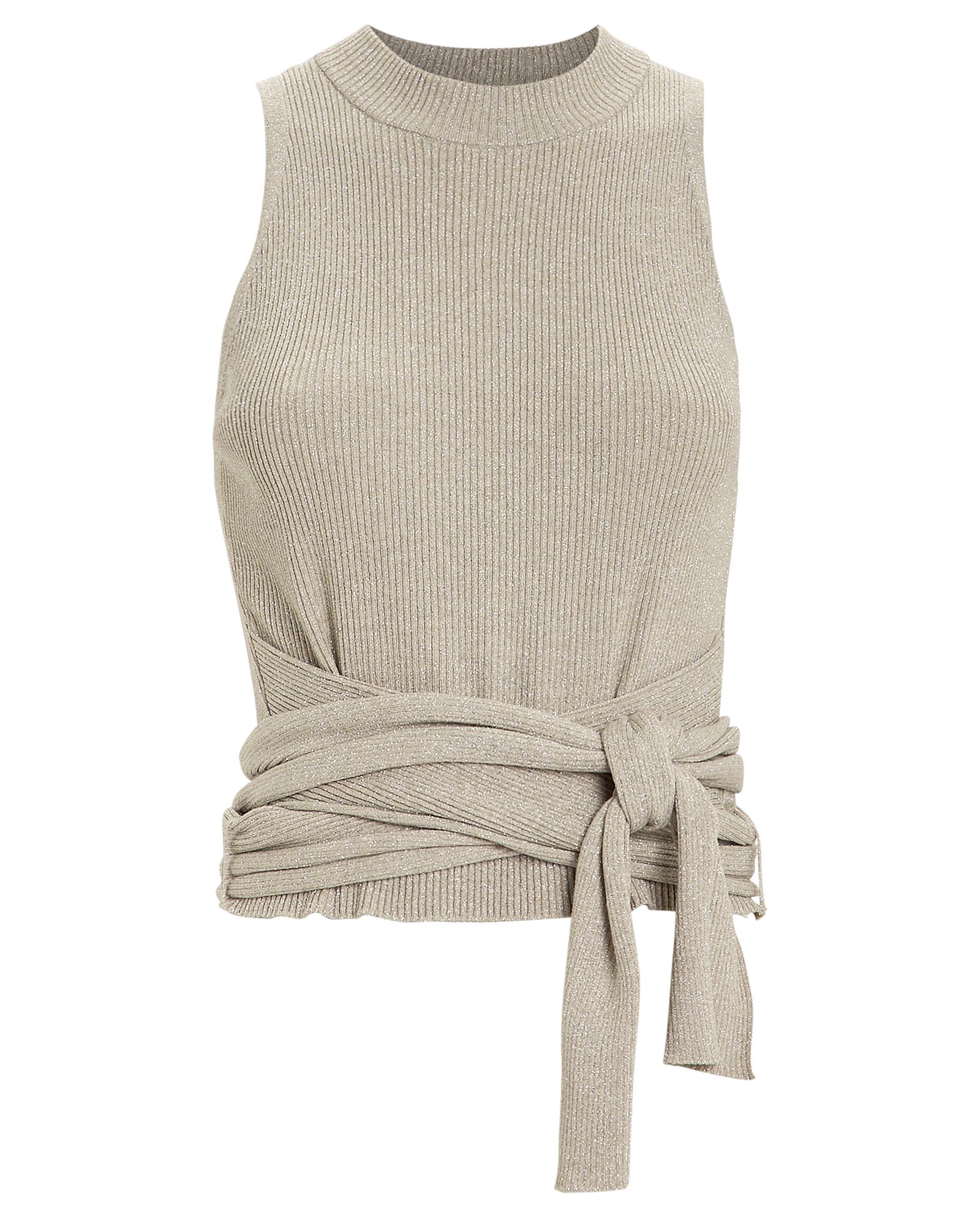 Tie Waist Lurex Knit Top by 3.1 Phillip Lim