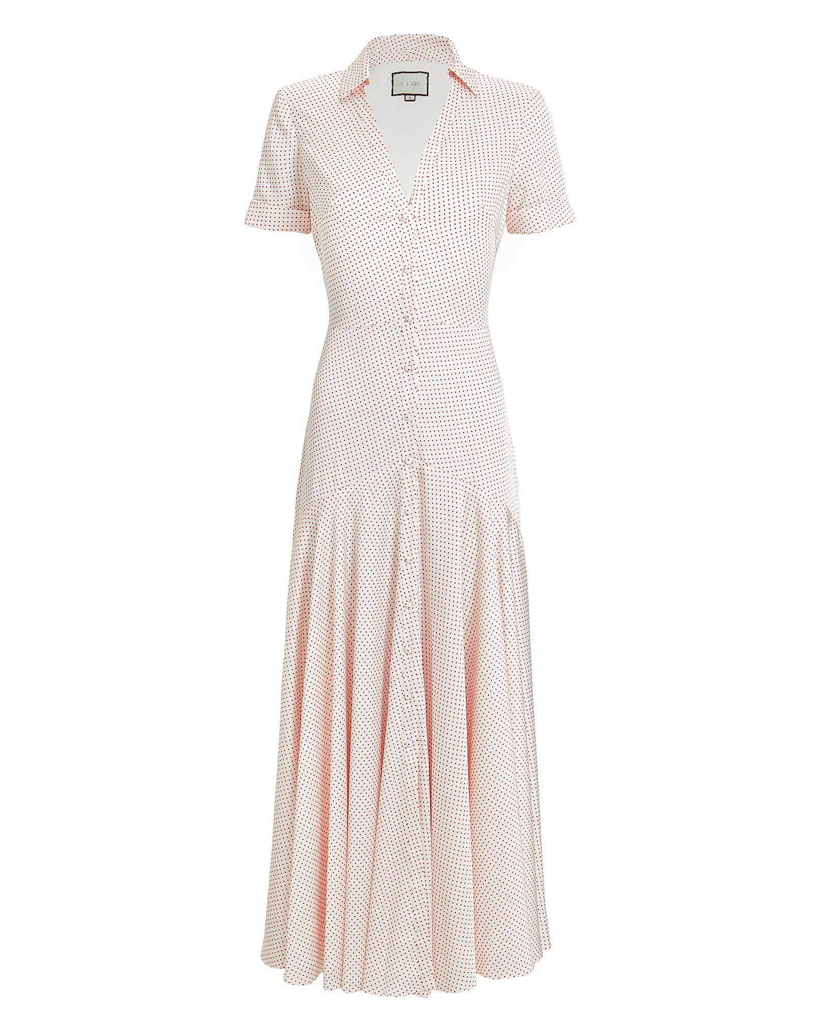 Athene Polka Dot Dress by Alexis