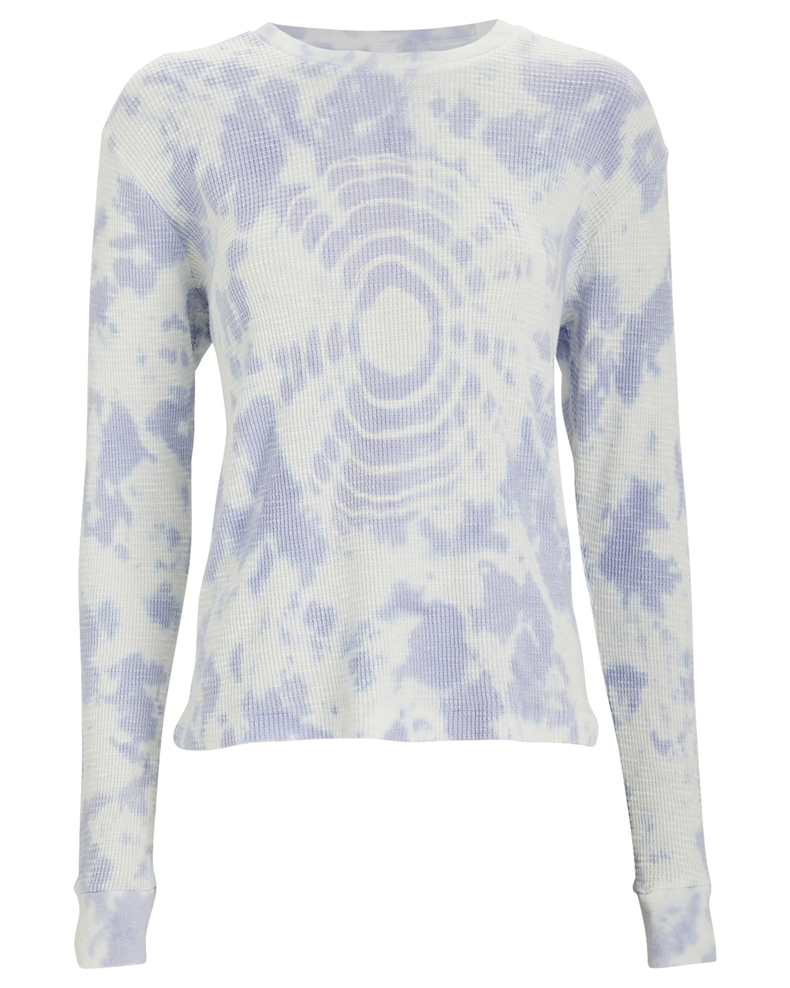 Re/done Thermal Tie-Dye Long Sleeve T-Shirt