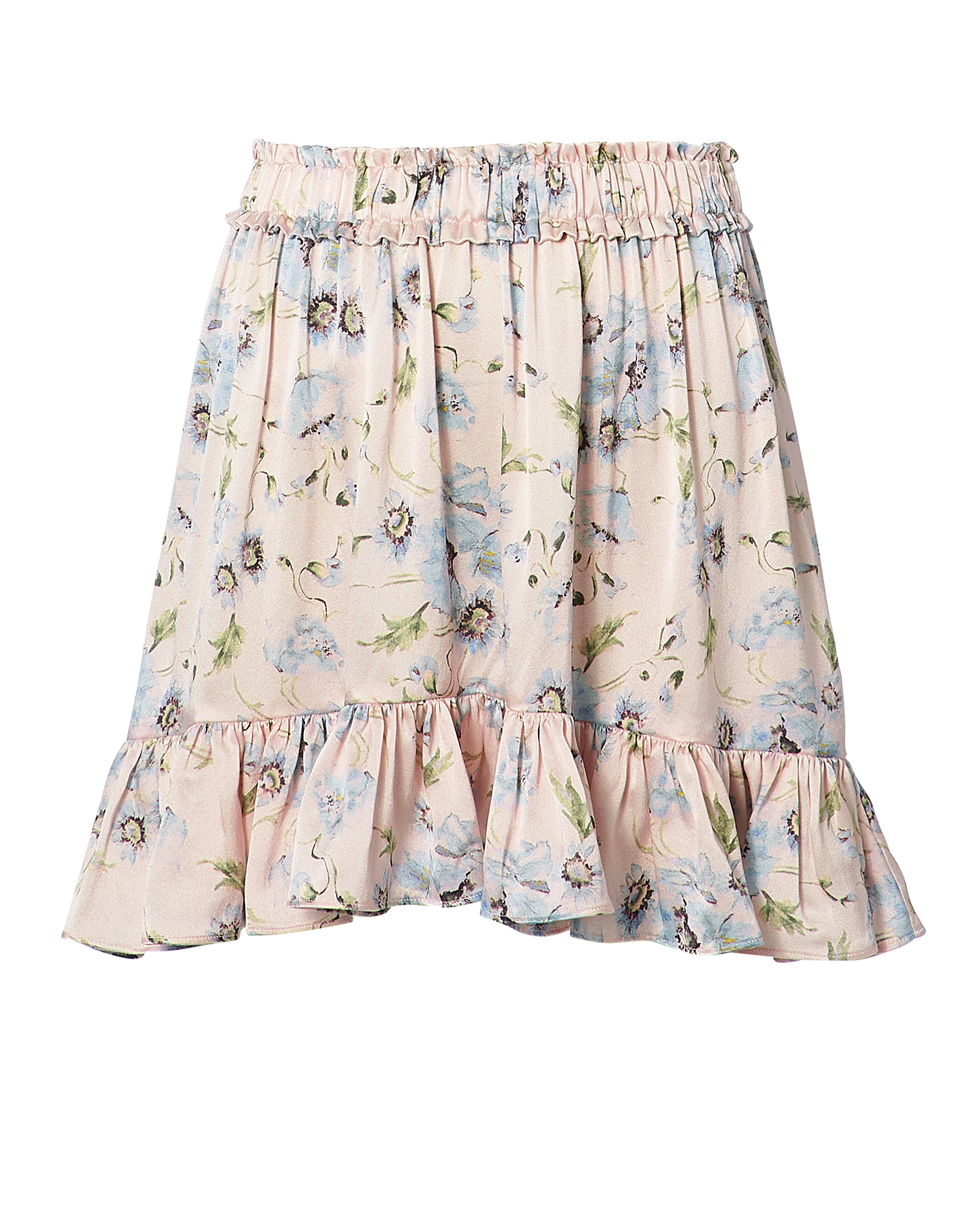 LOVE SHACK FANCY Carlotta Floral Mini Skirt