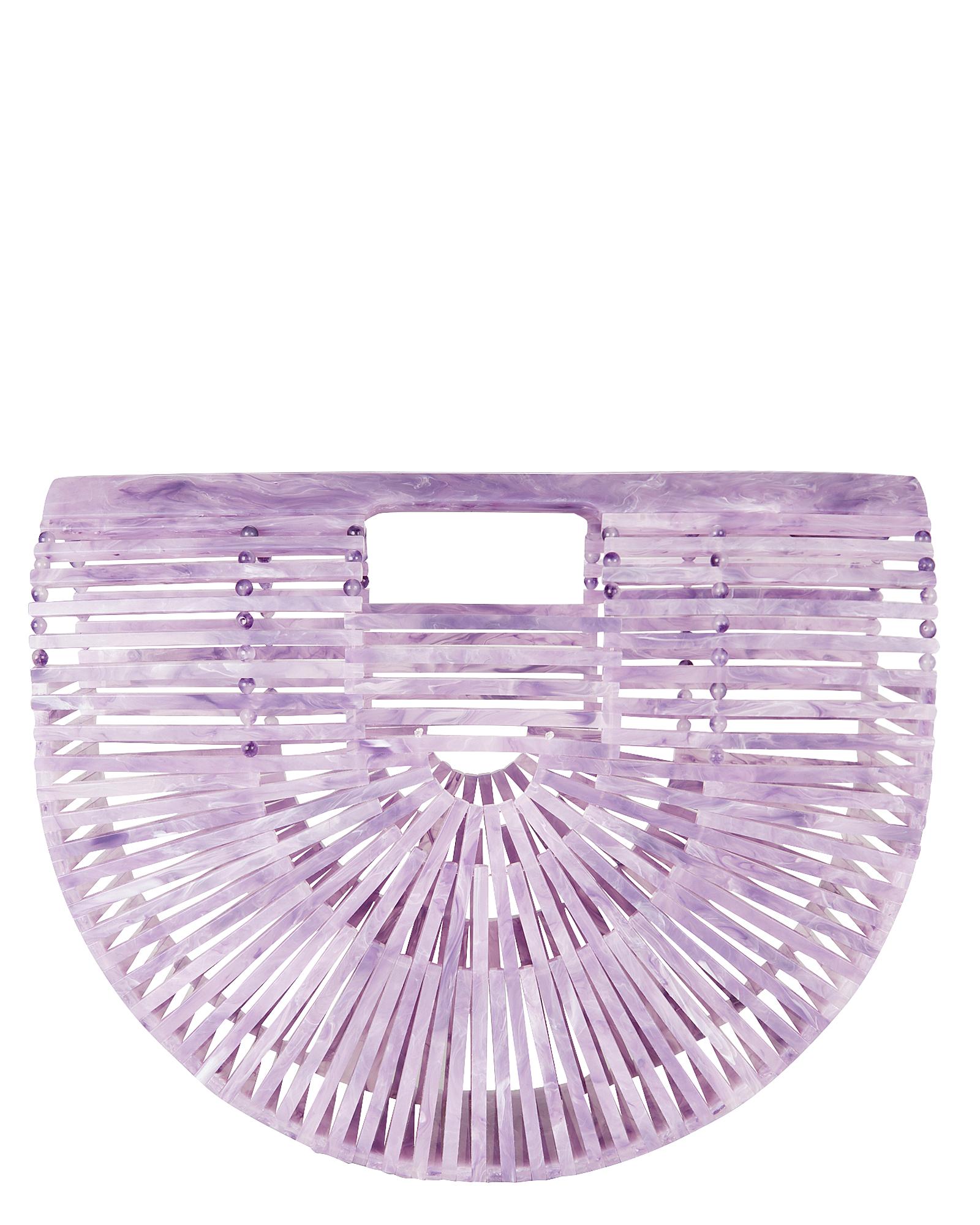 Ark Small Half Lavender Bag by Cult Gaia