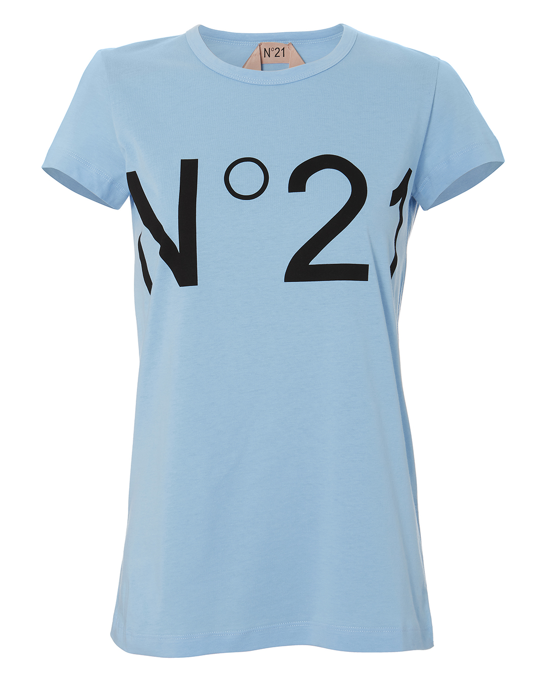 NO. 21 LOGO TEE BLUE-LT