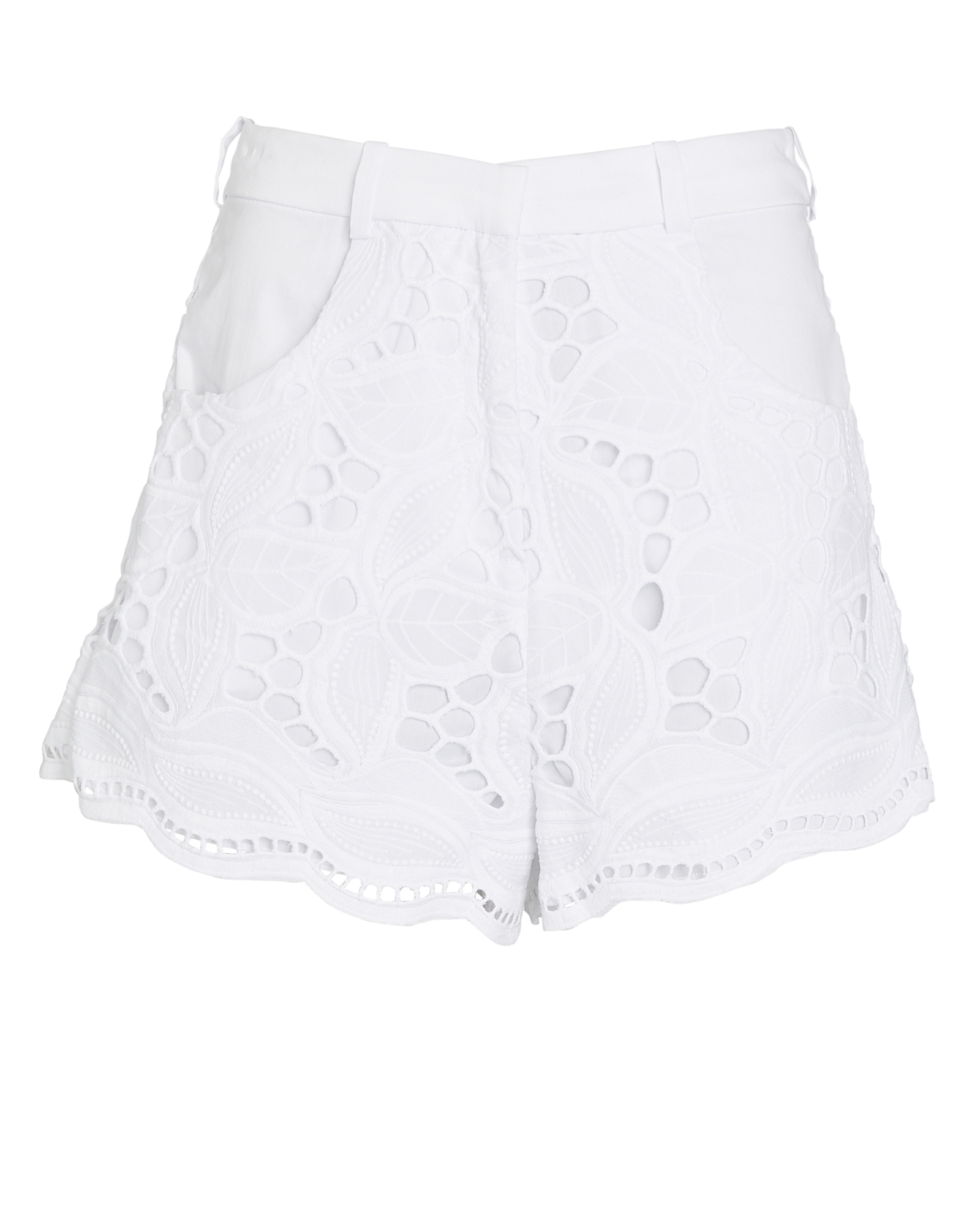 Alexis ALEXIS BOWES BRODERIE ANGLAISE SHORTS