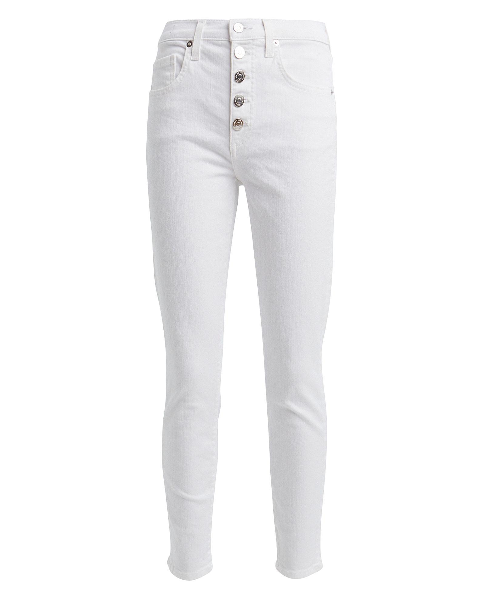 Veronica Beard Jeans VERONICA BEARD DEBBIE HIGH-RISE SKINNY JEANS