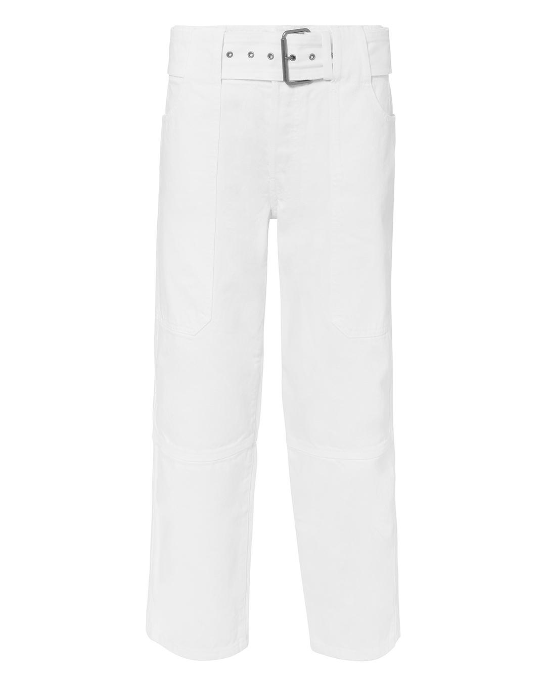 PSWL PROENZA SCHOULER  UTILITY WHITE JEANS WHITE