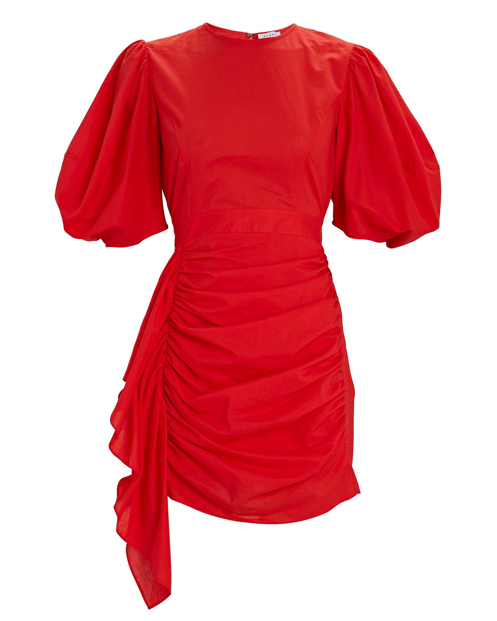 Rhode Cottons Pia Poplin Mini Dress
