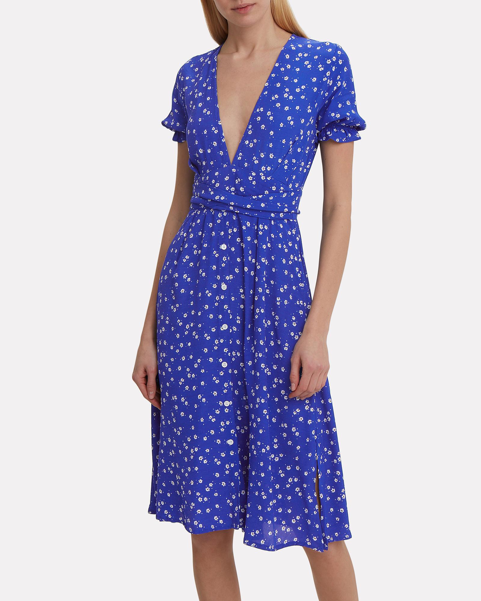 e3d2a1acd45 ... Farah Betina Print Cobalt Dress