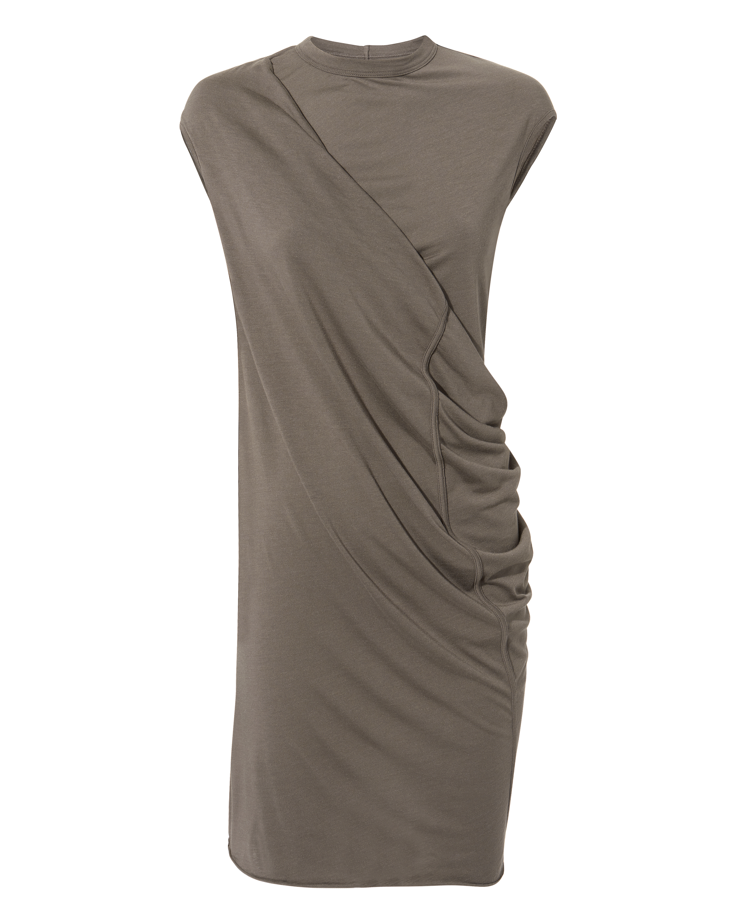 Gathered Tunic Dress by Rick Owens Lilies
