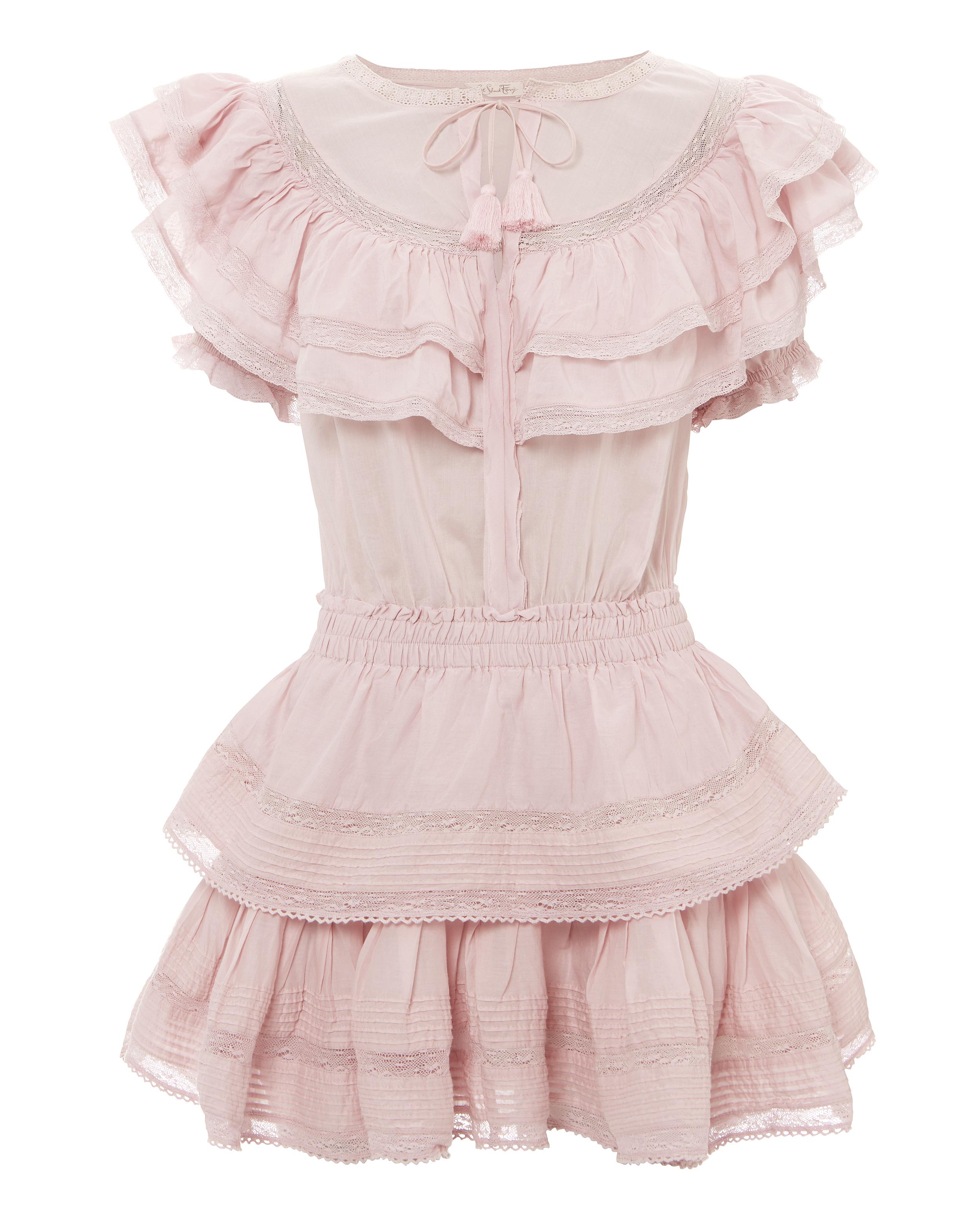 7d274937d1 Liv Ruffle Mini Dress