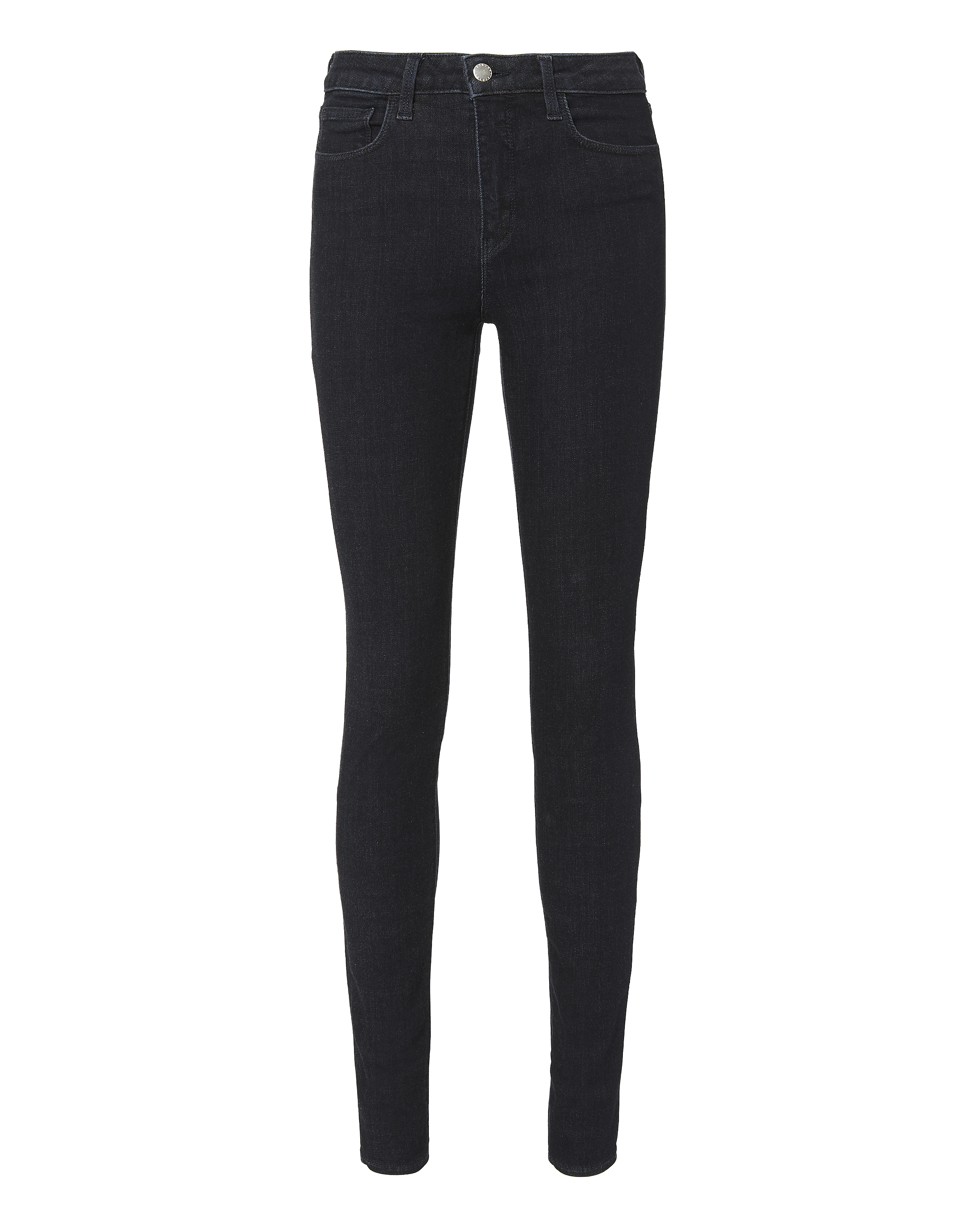 Marguerite High-Rise Eclipse Skinny Jeans Denim, Navy