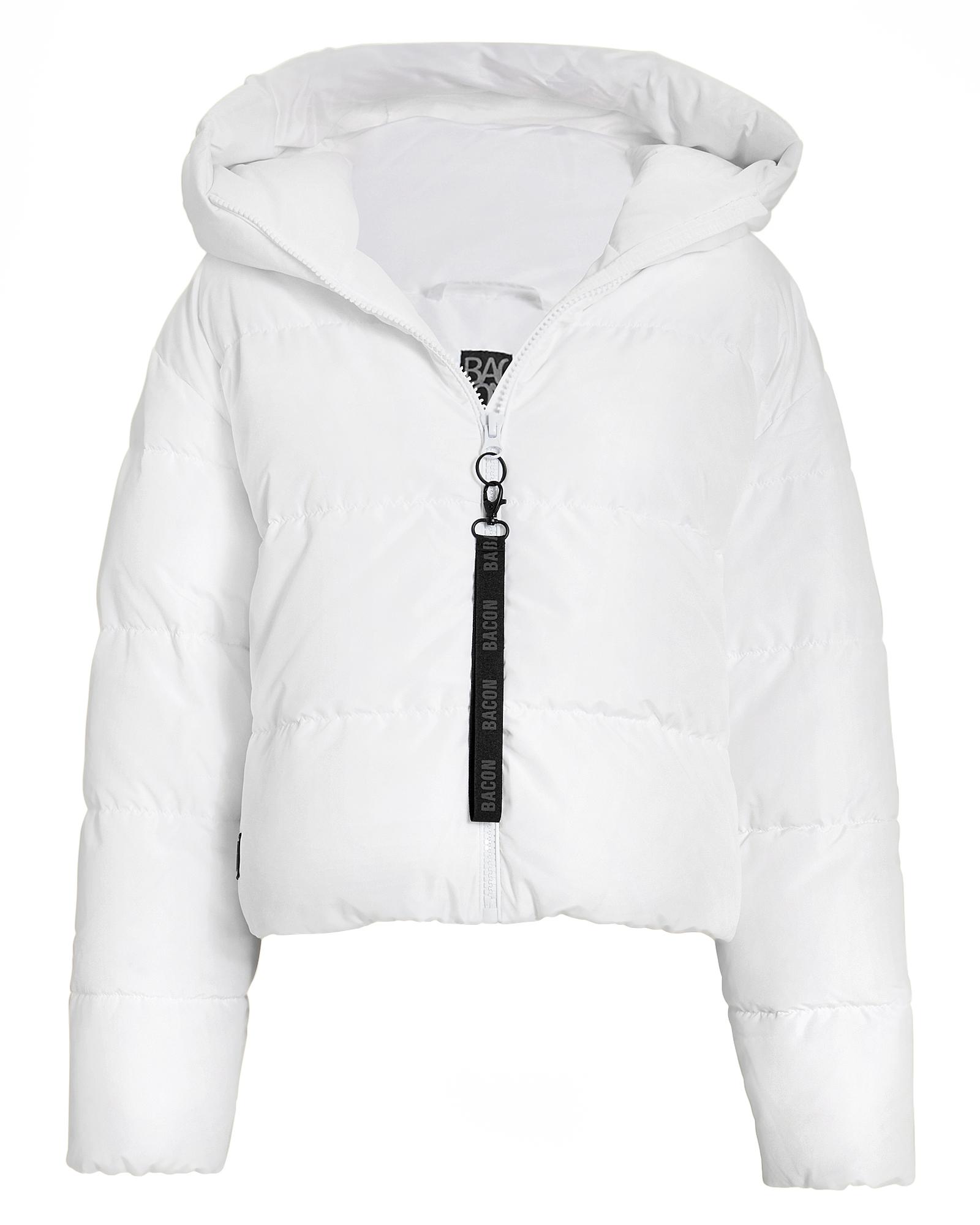 BACON Cloud White Puffer Jacket