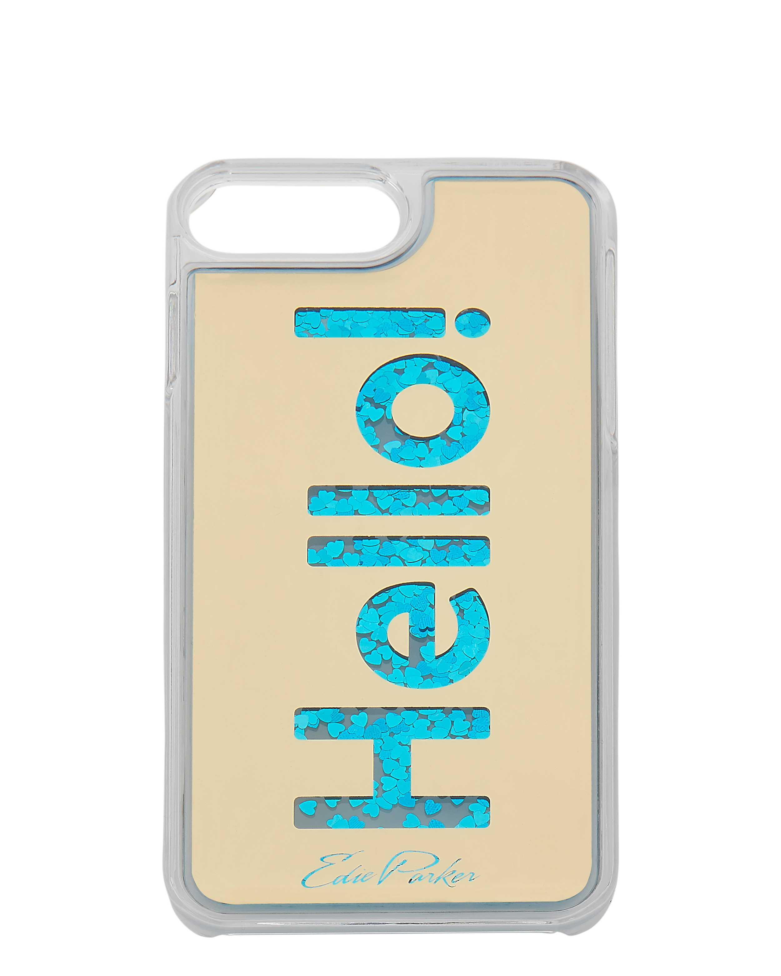 Edie Parker Blue Floating Hello iPhone 6 or 7 Plus Case