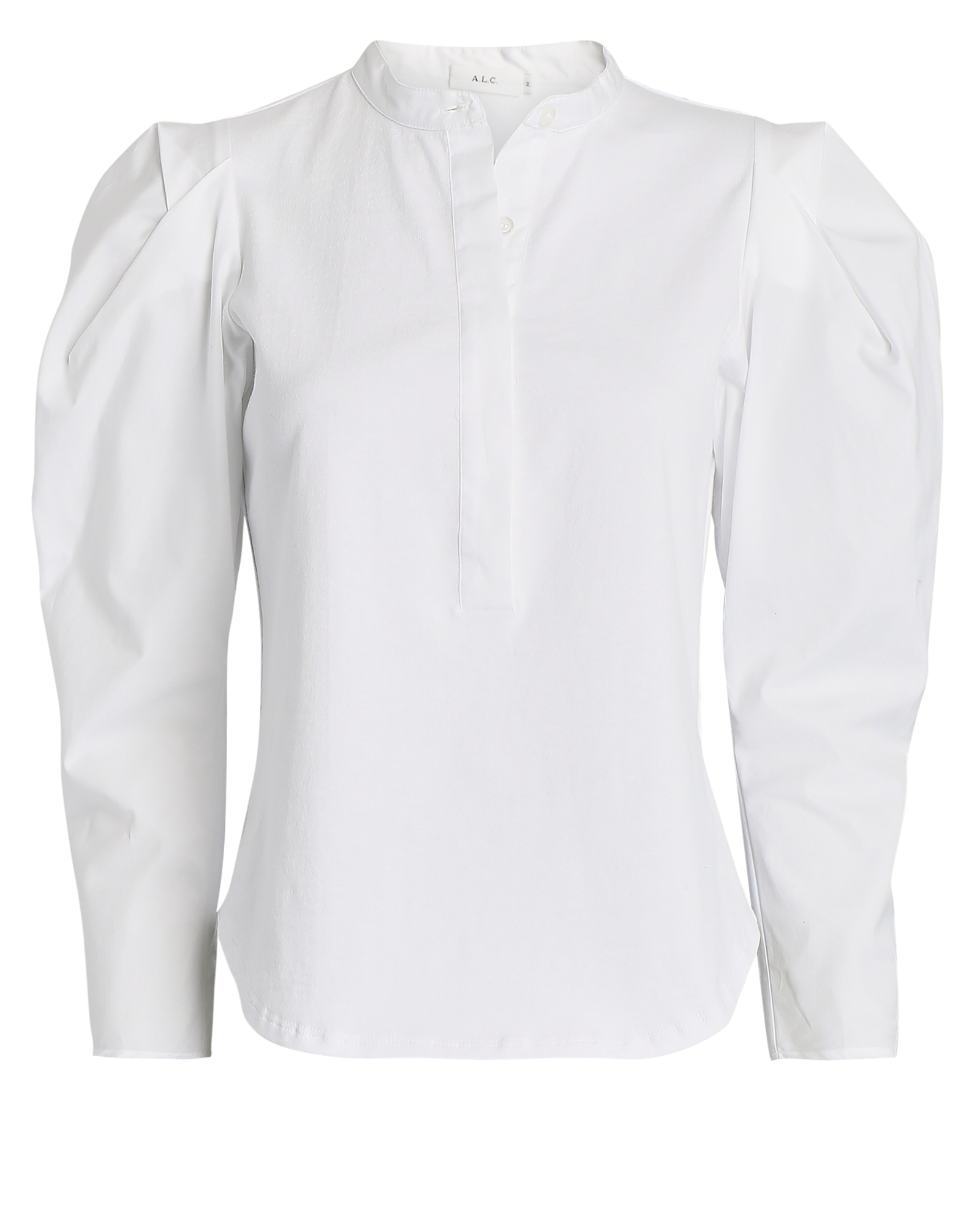 A.l.c ROBBIE PUFF SLEEVE POPOVER TOP