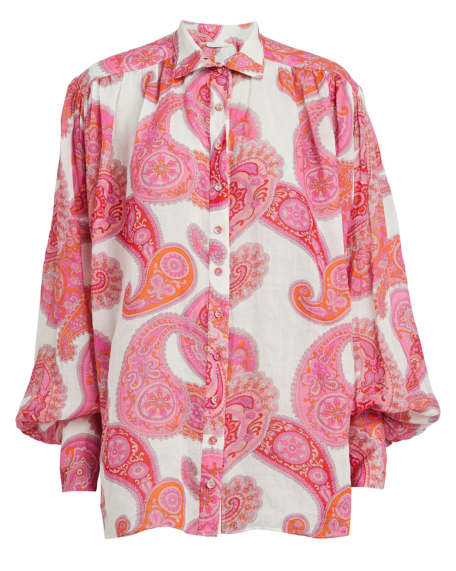 Zimmermann Tops ZIMMERMANN PEGGY PAISLEY PRINT BLOUSE