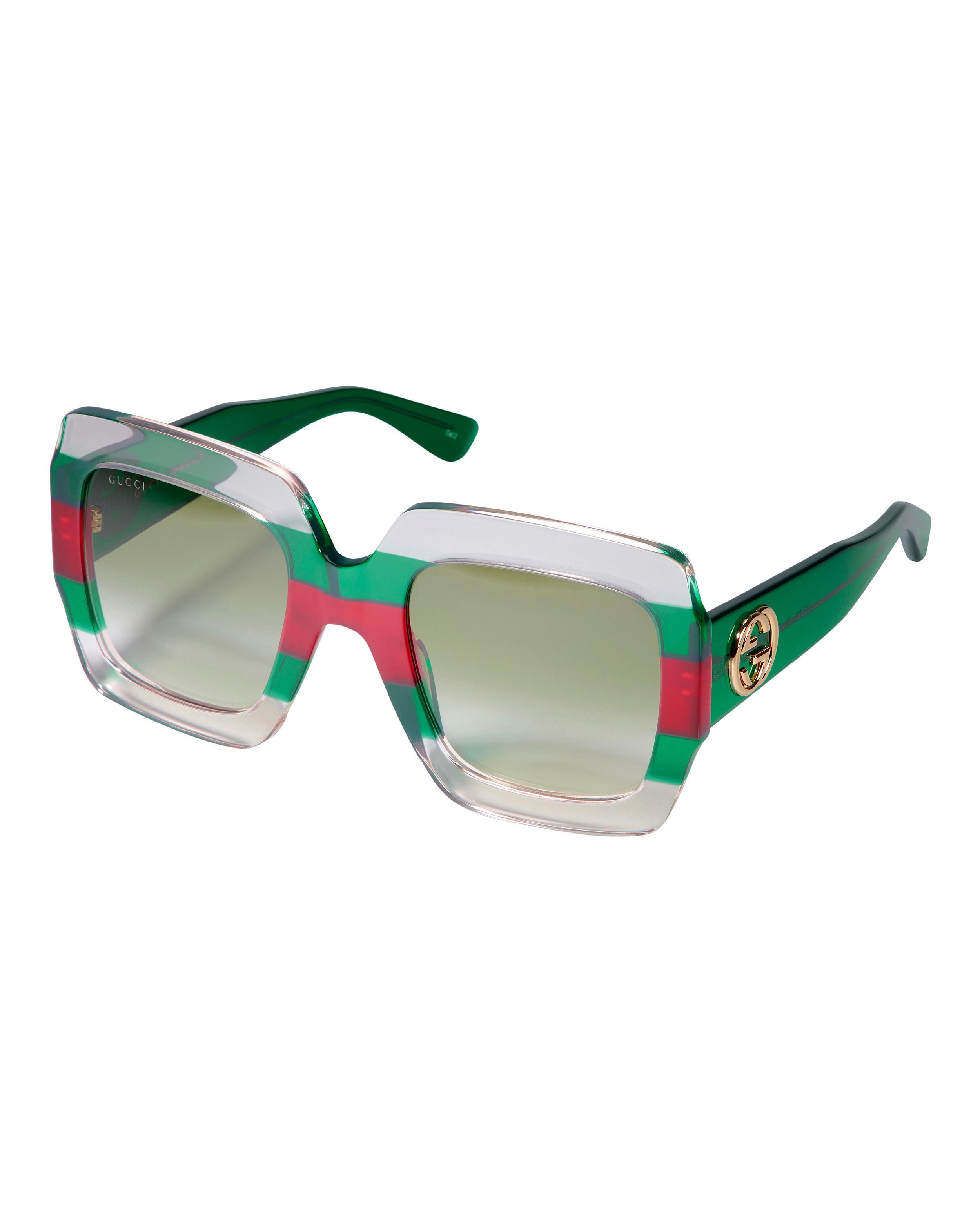 9aed6fd372ae ... Colorblock Square Sunglasses
