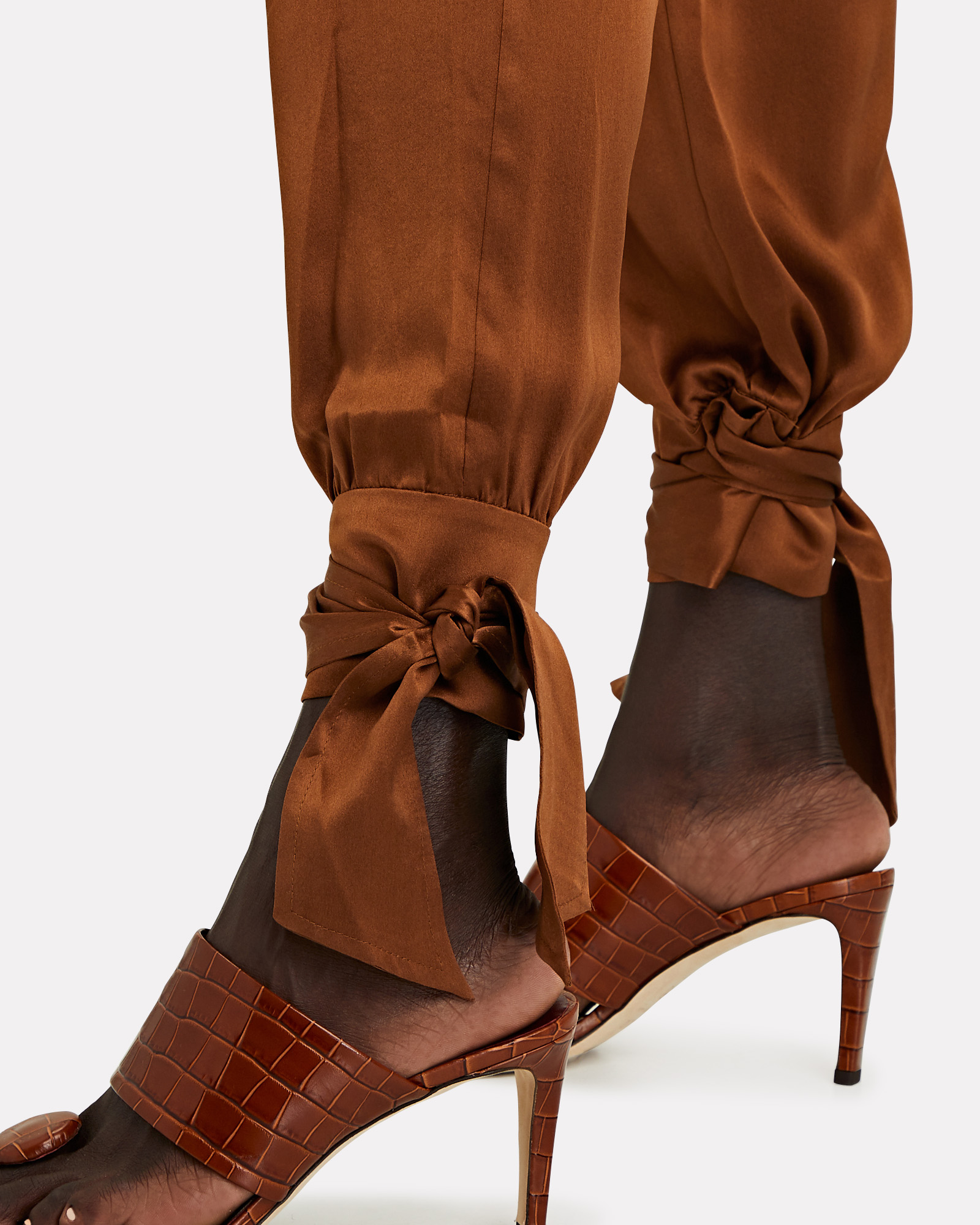 INTERMIX Private Label Rafela Ankle Tie Pants | INTERMIX®