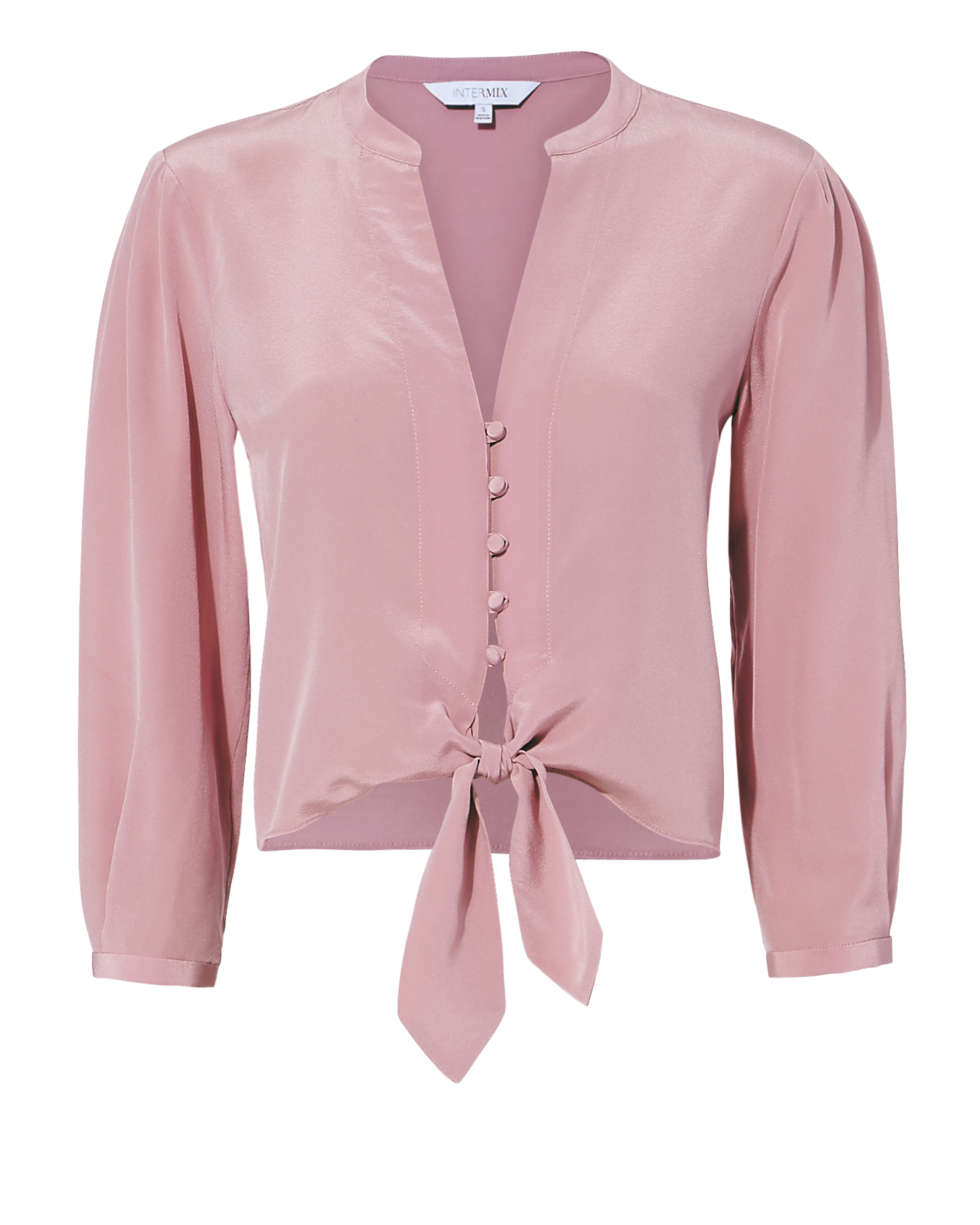 Violetta Tie Front Blouse by Intermix