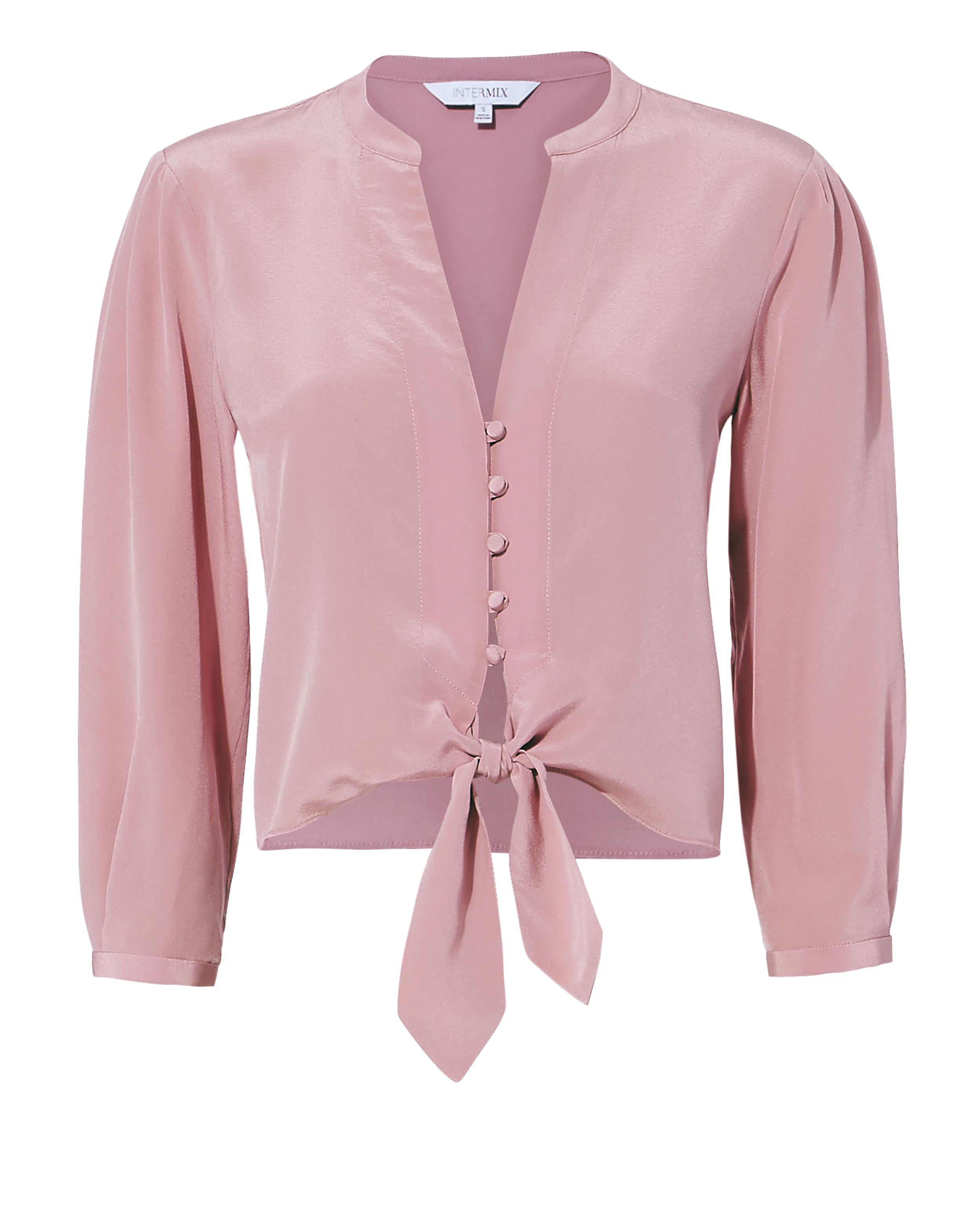 Violetta Tie Front Blouse by Intermix