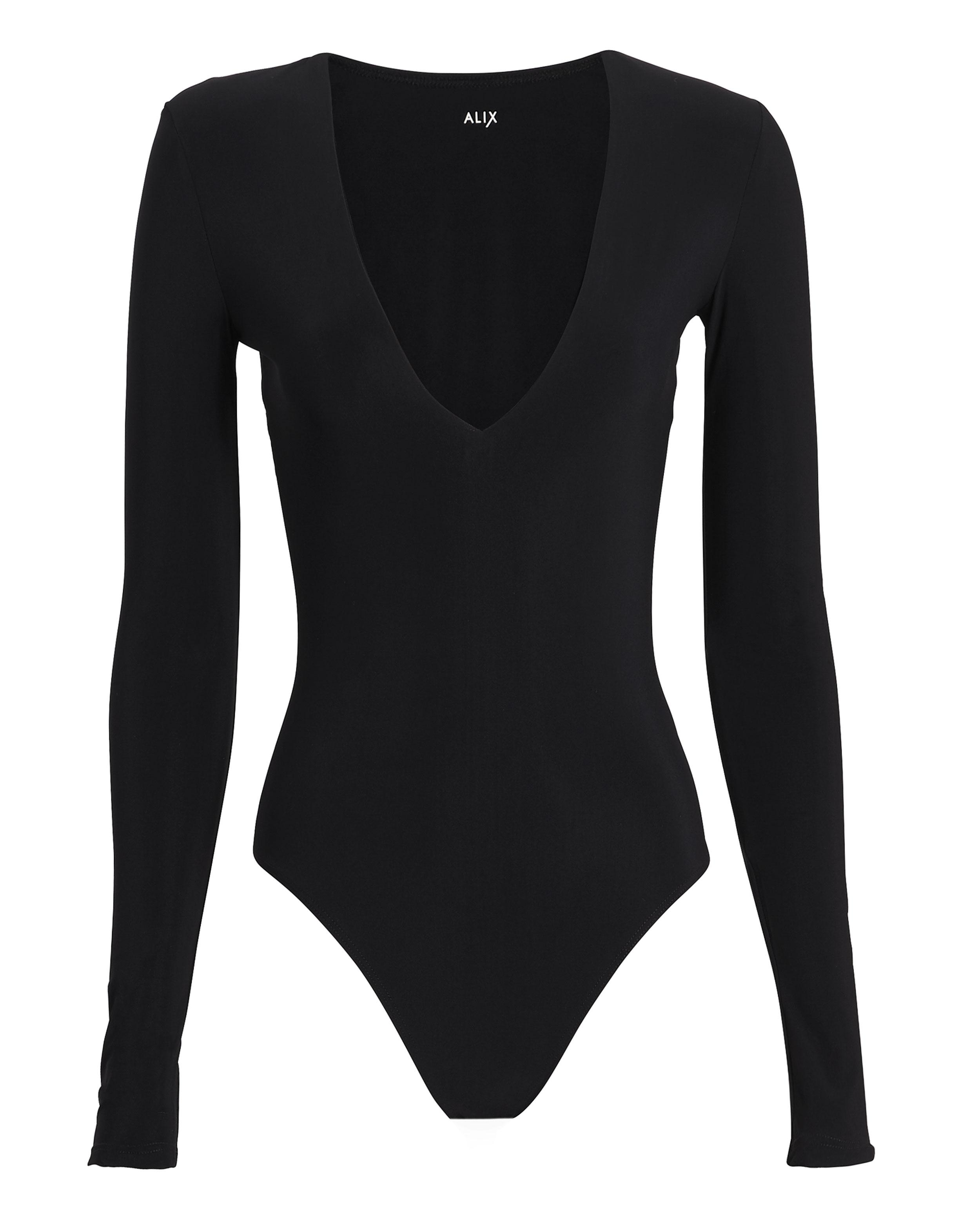 ALIX Irving Black Bodysuit
