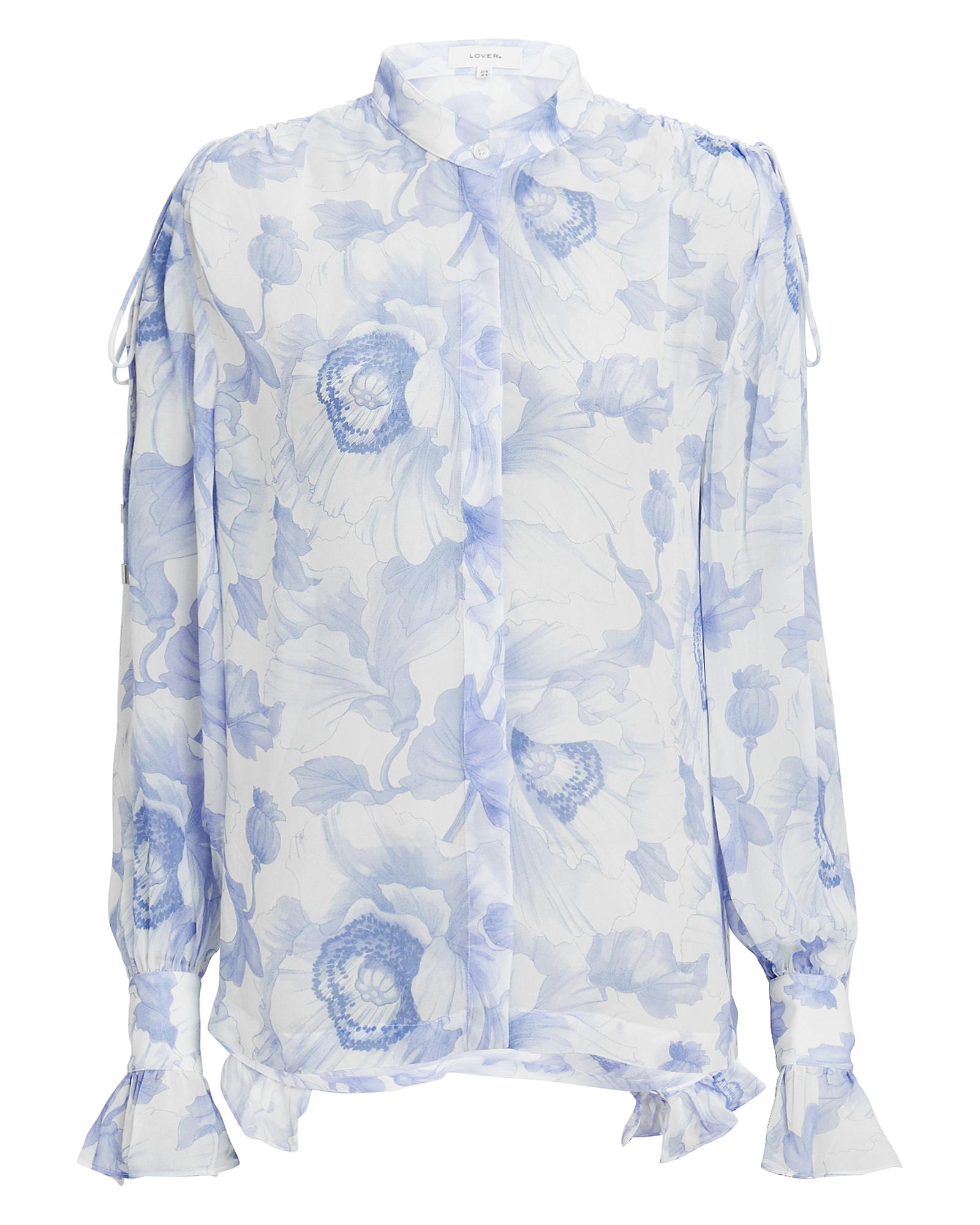 LOVER Fleur Blouse Blue/Floral