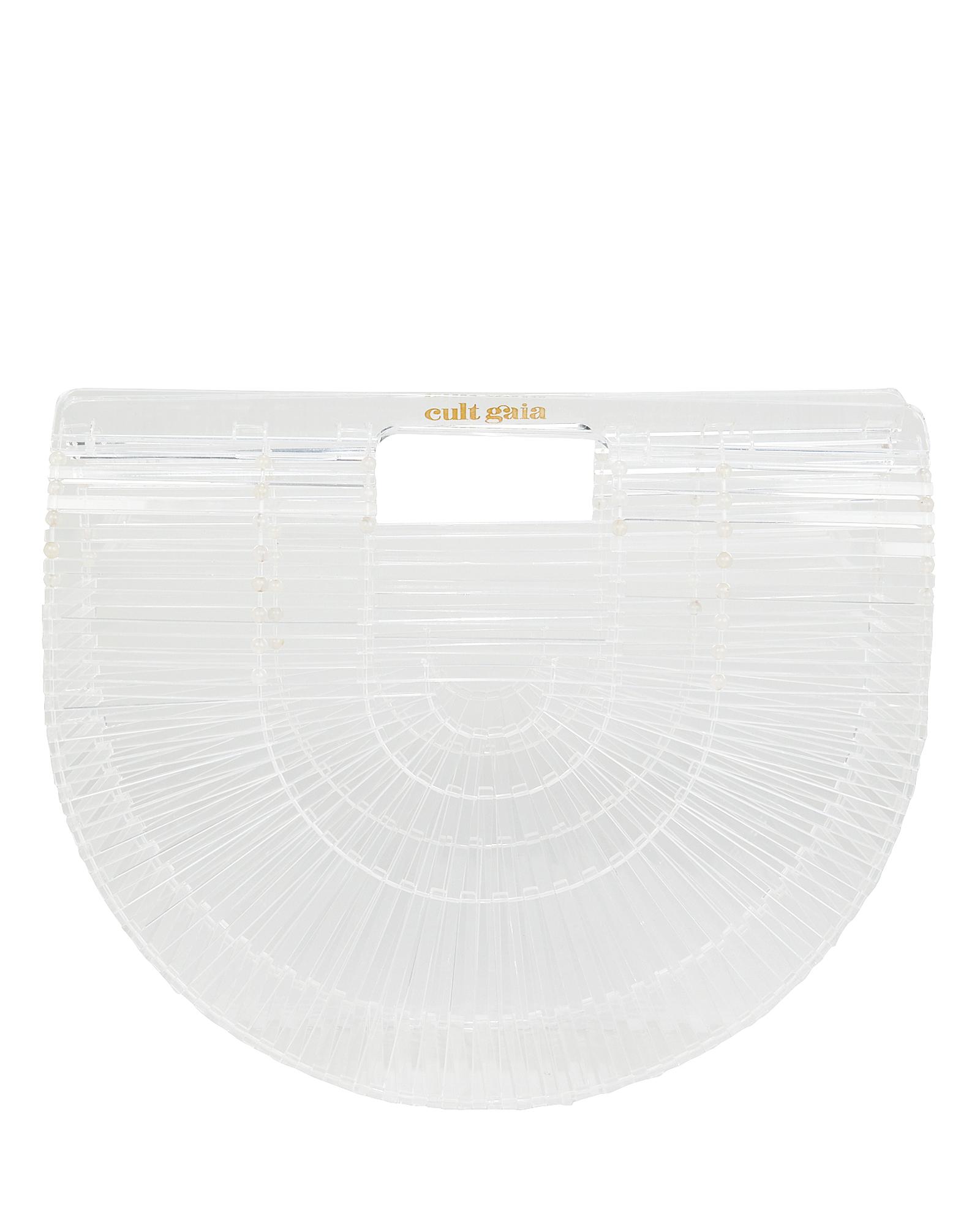 Ark Small Clear Acrylic Bag by Cult Gaia