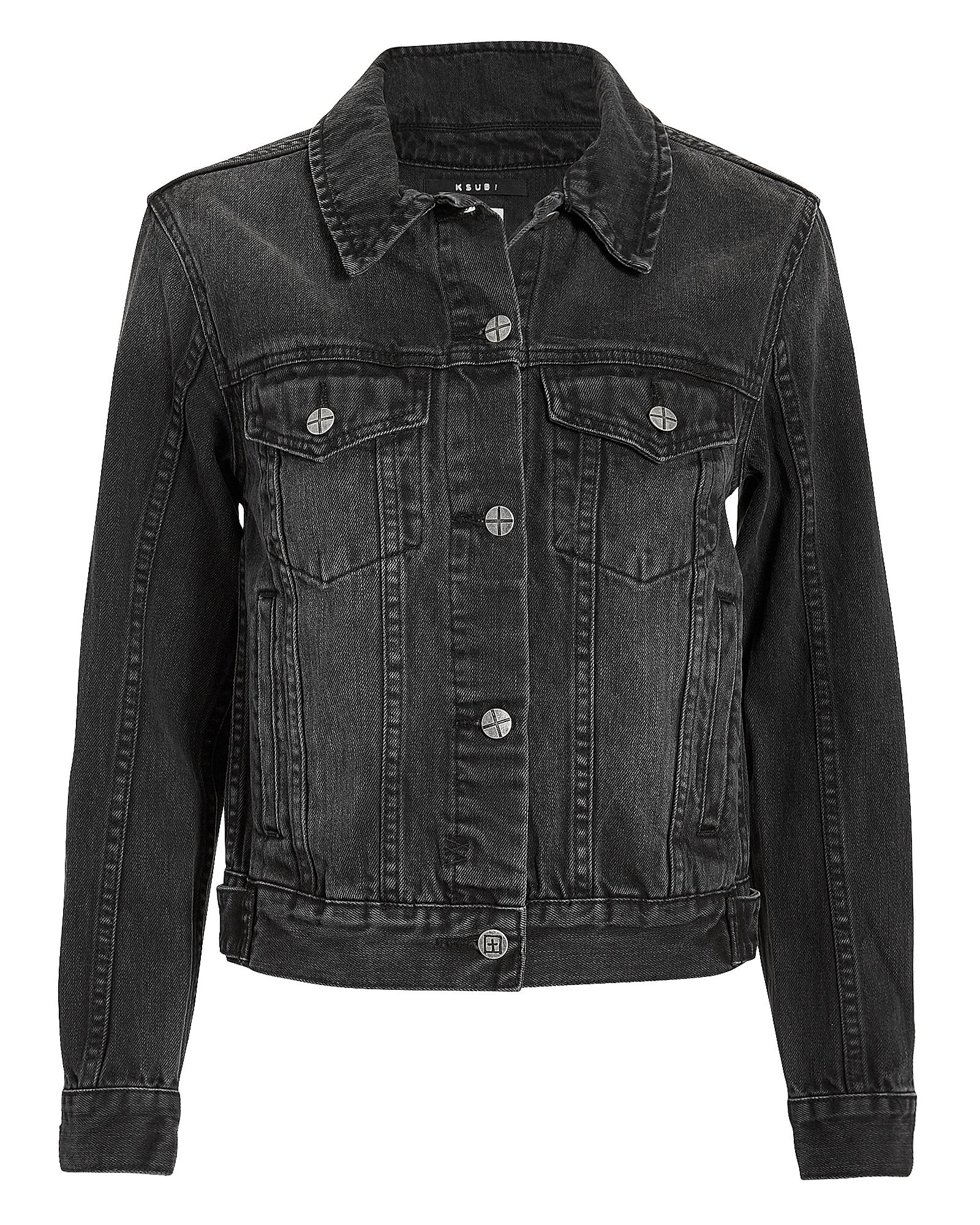 Classic Black Jean Jacket Black Deni
