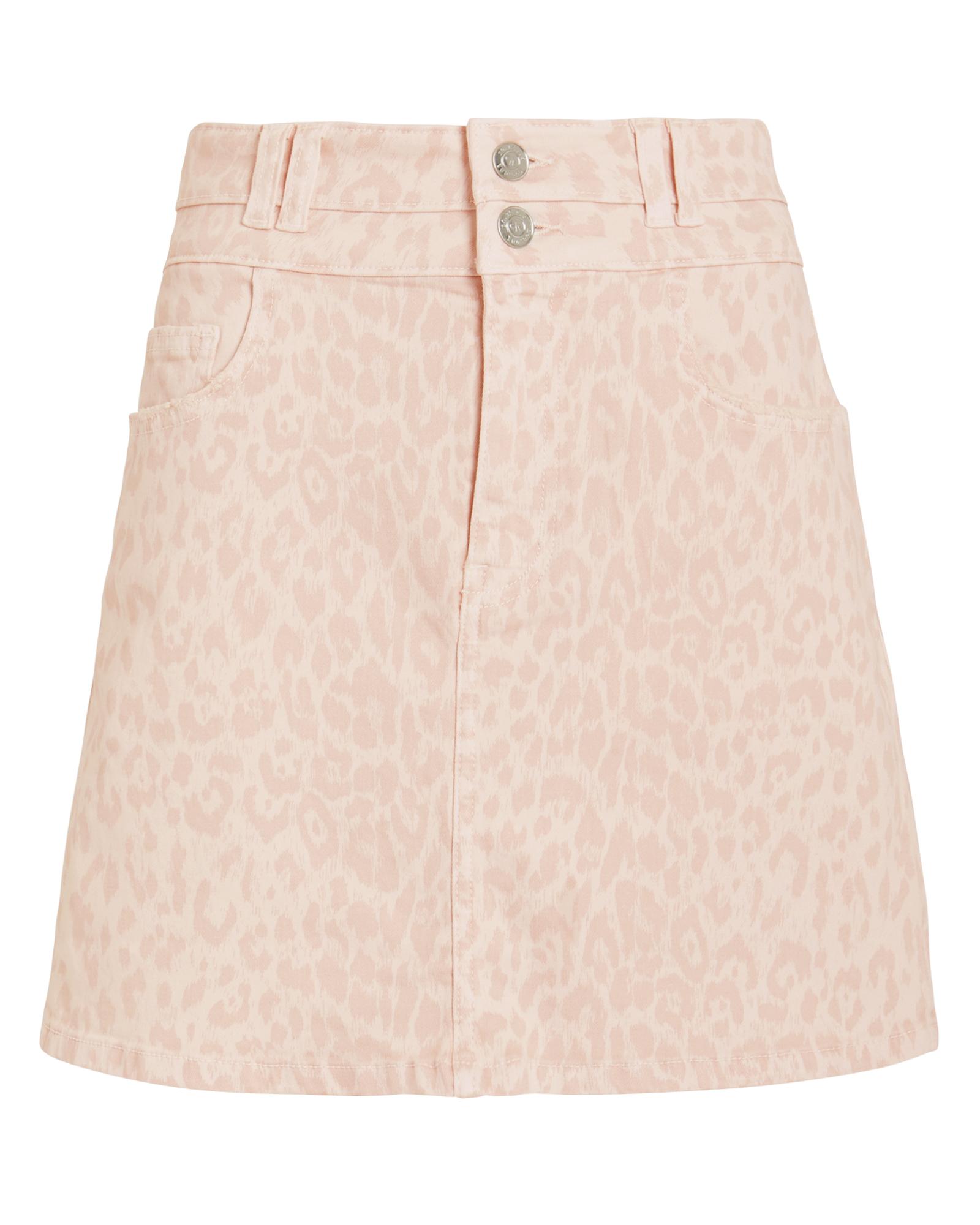 dbf4dd7e87 Current Elliott The Flute Denim Skirt In Light Pink | ModeSens