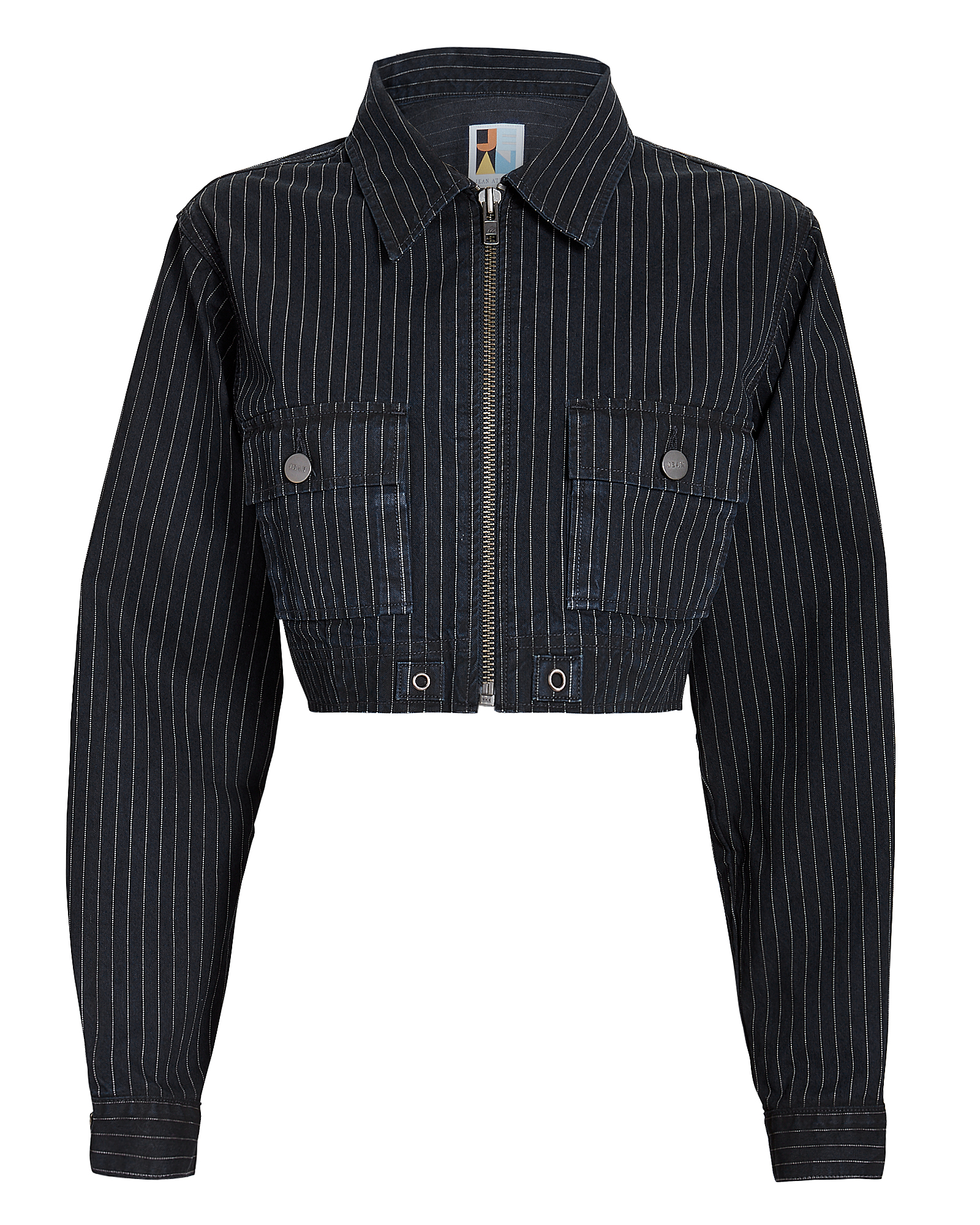 Alix Crop Jacket Deni-Drk