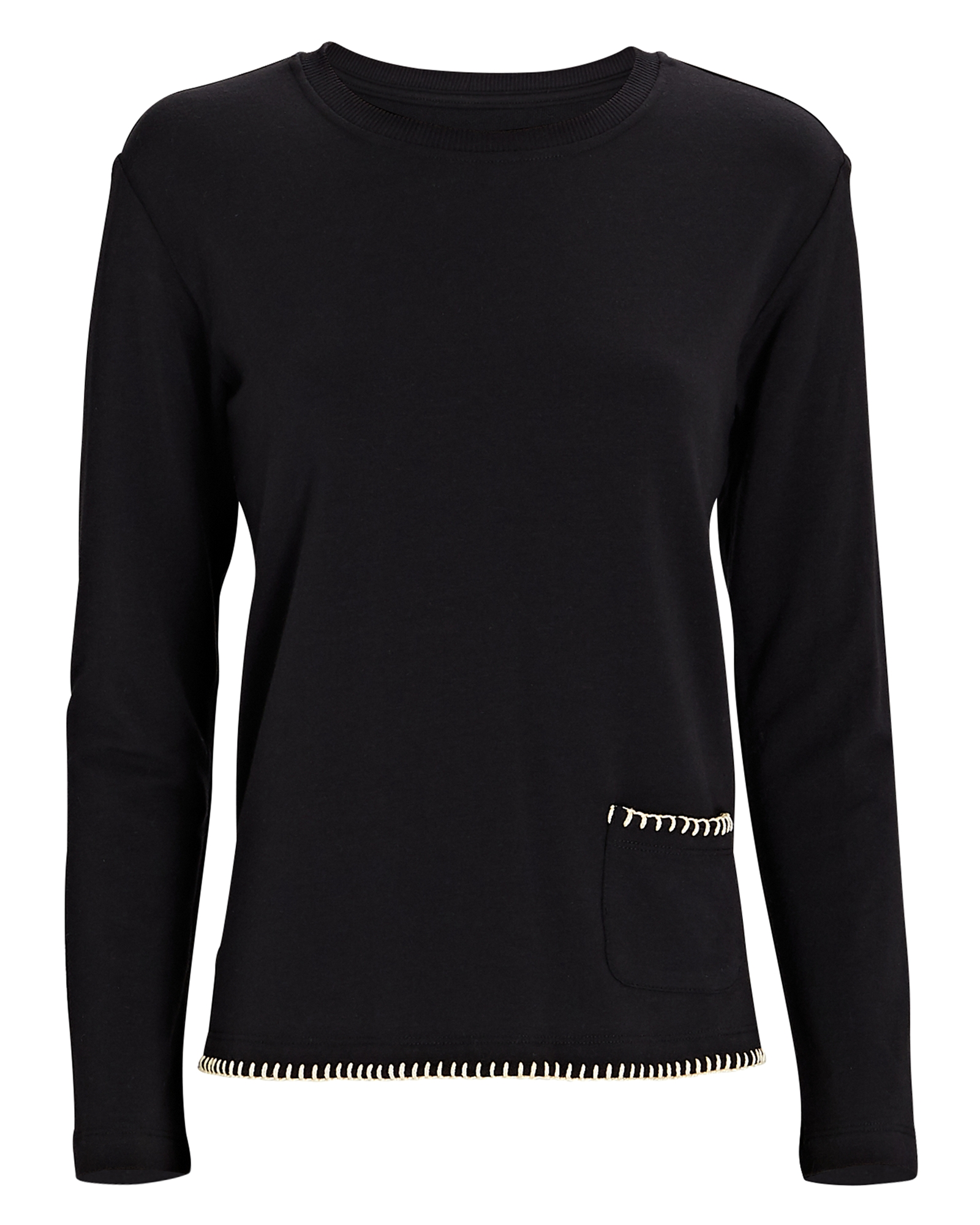 L Agence Christy Split Hem Sweatshirt
