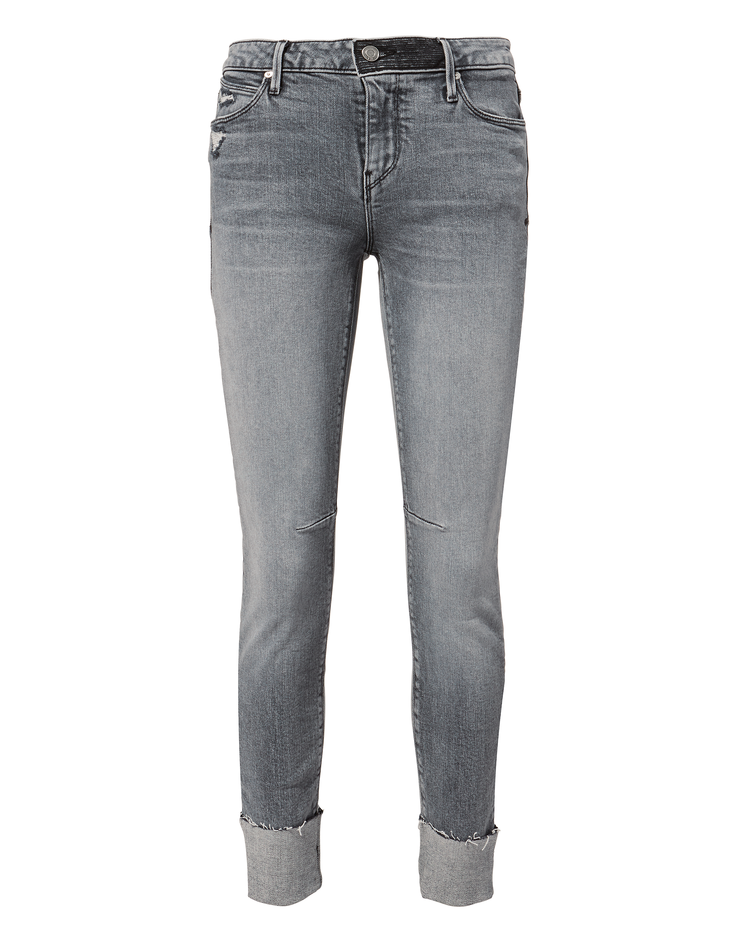 Rta Nova Mid-Rise Skinny Jeans In Grey  d3a8df43c67