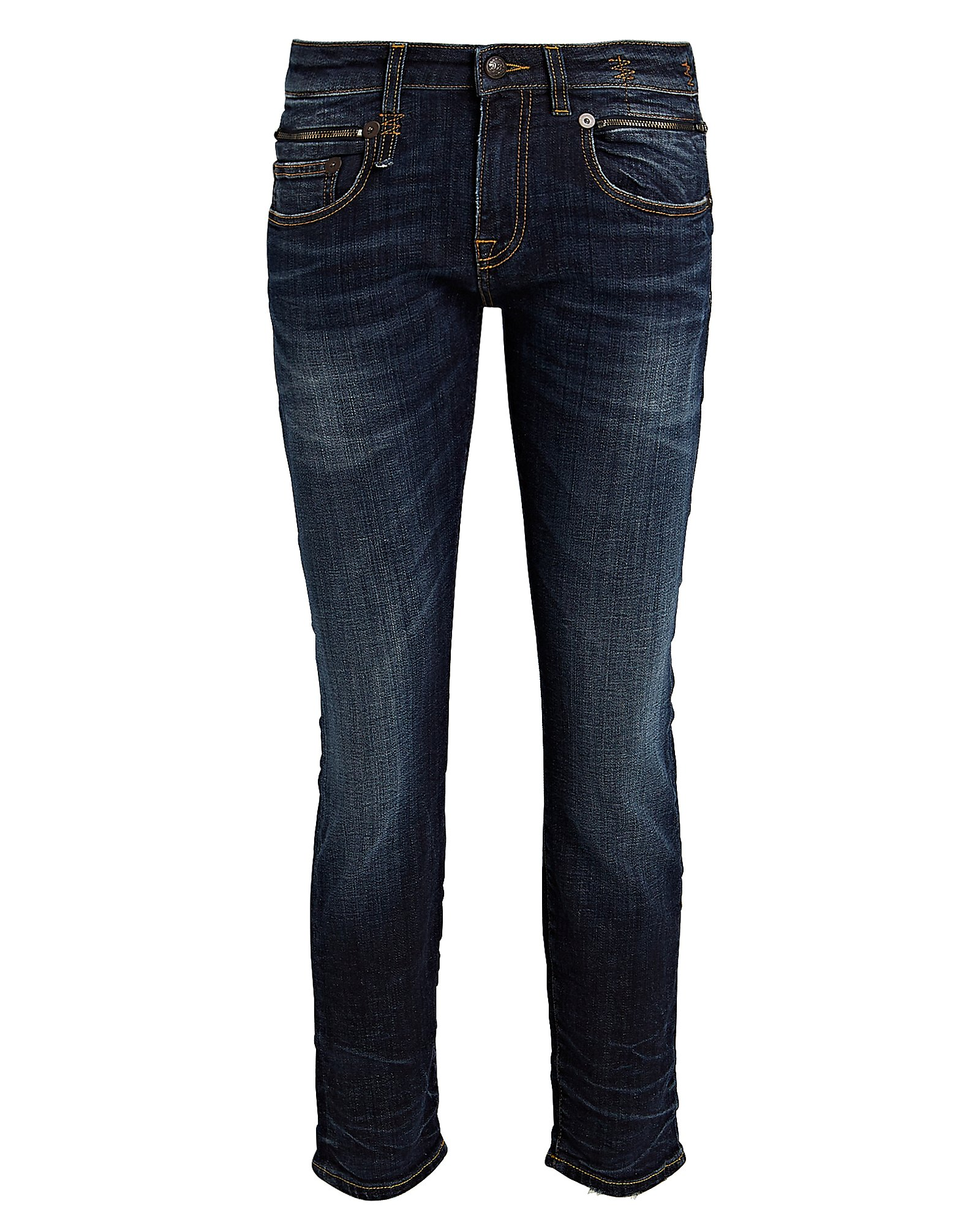 R13 Jeans R13 BIKER BOY SKINNY JEANS