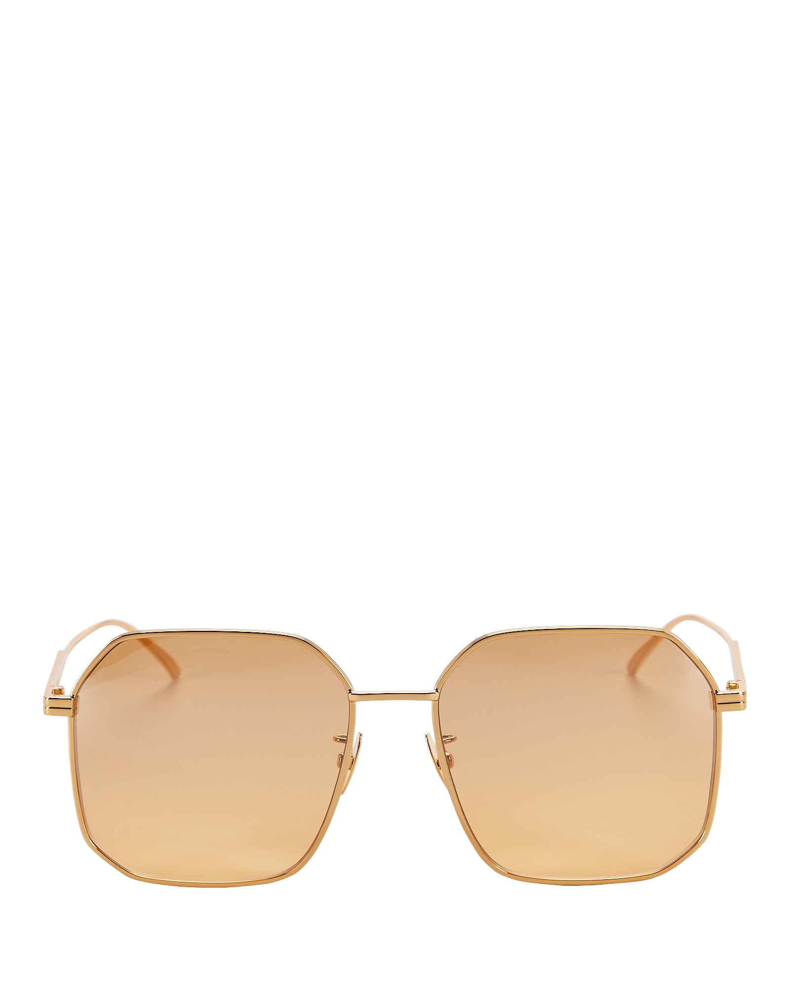 Bottega Veneta Sunglasses Wire Square Sunglasses