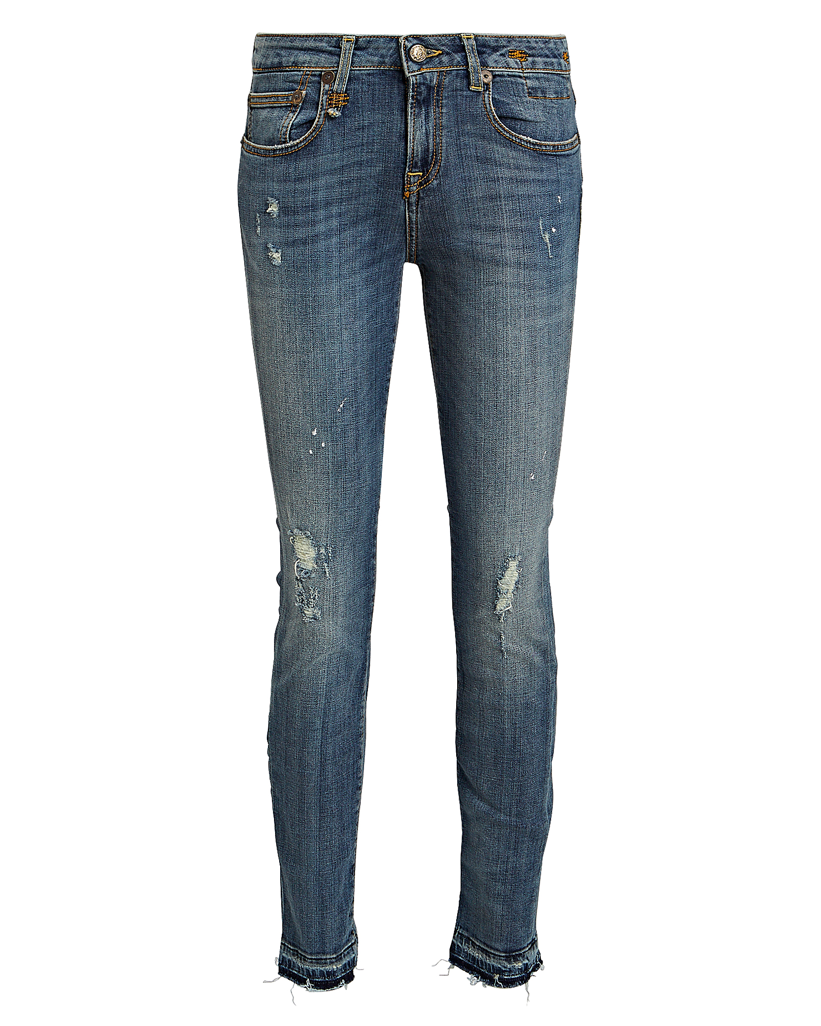 R13 Jeans R13 ALISON DISTRESSED SKINNY JEANS