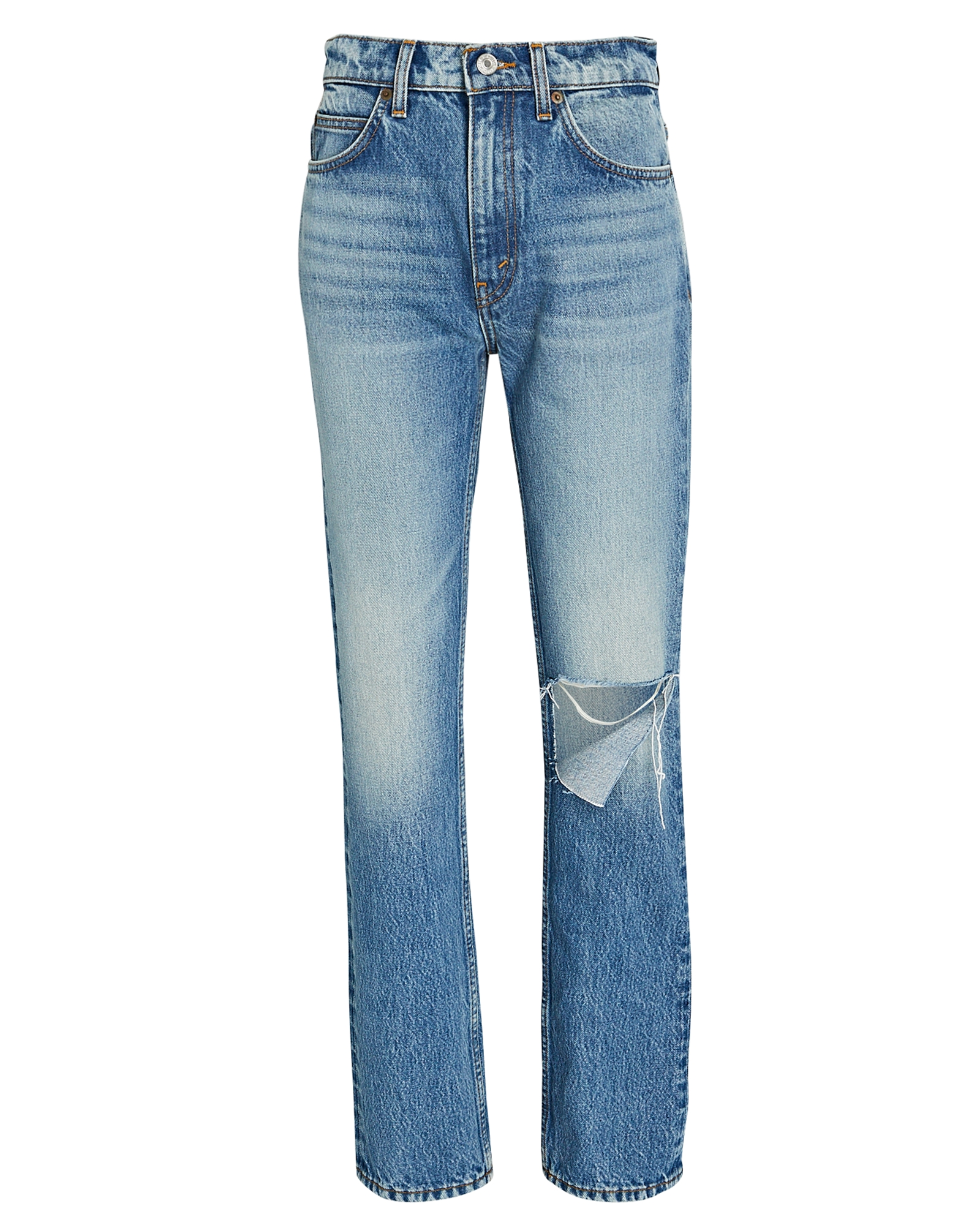 Re/done 70s Straight-Leg Jeans