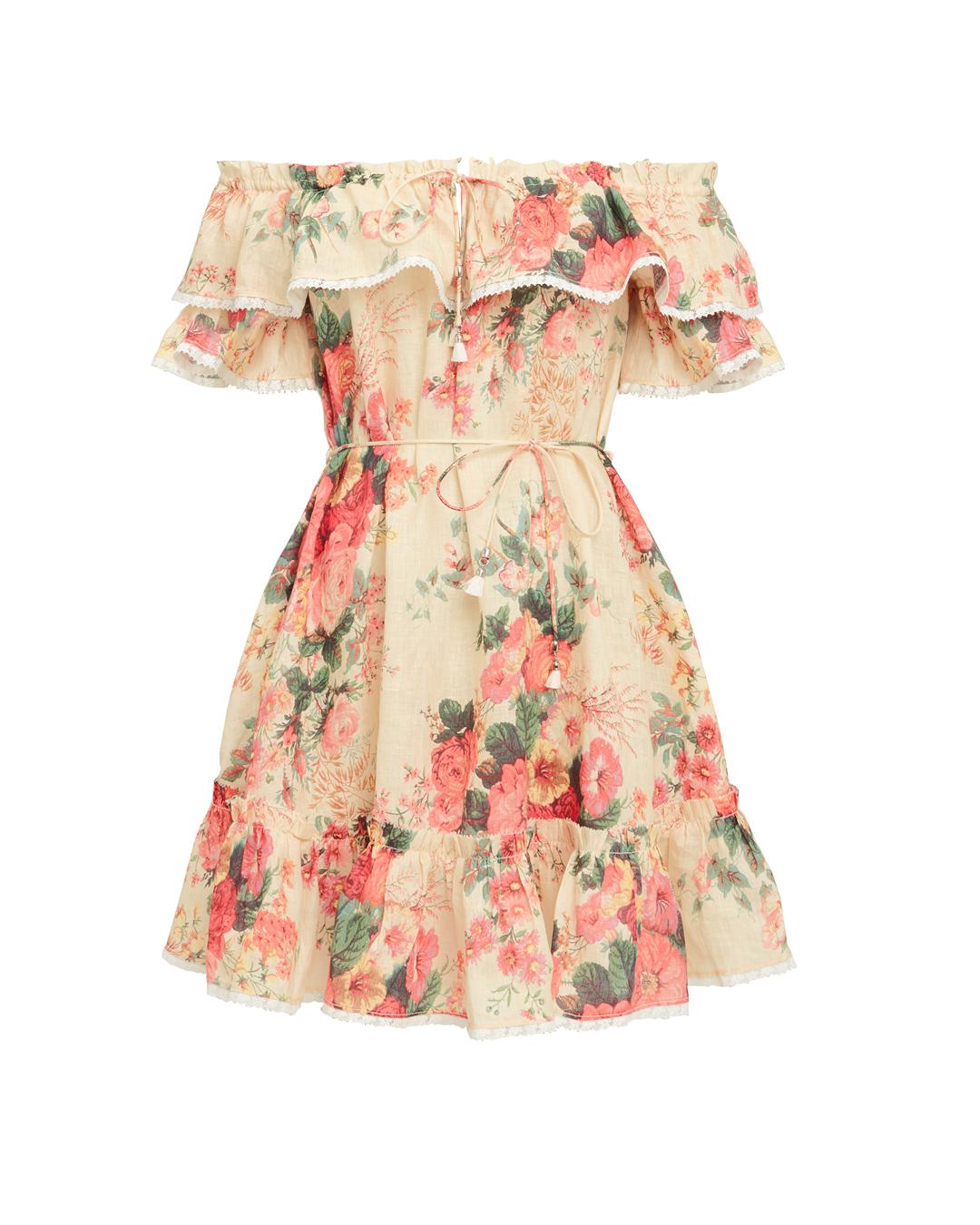 Laelia Mini Dress by Zimmermann