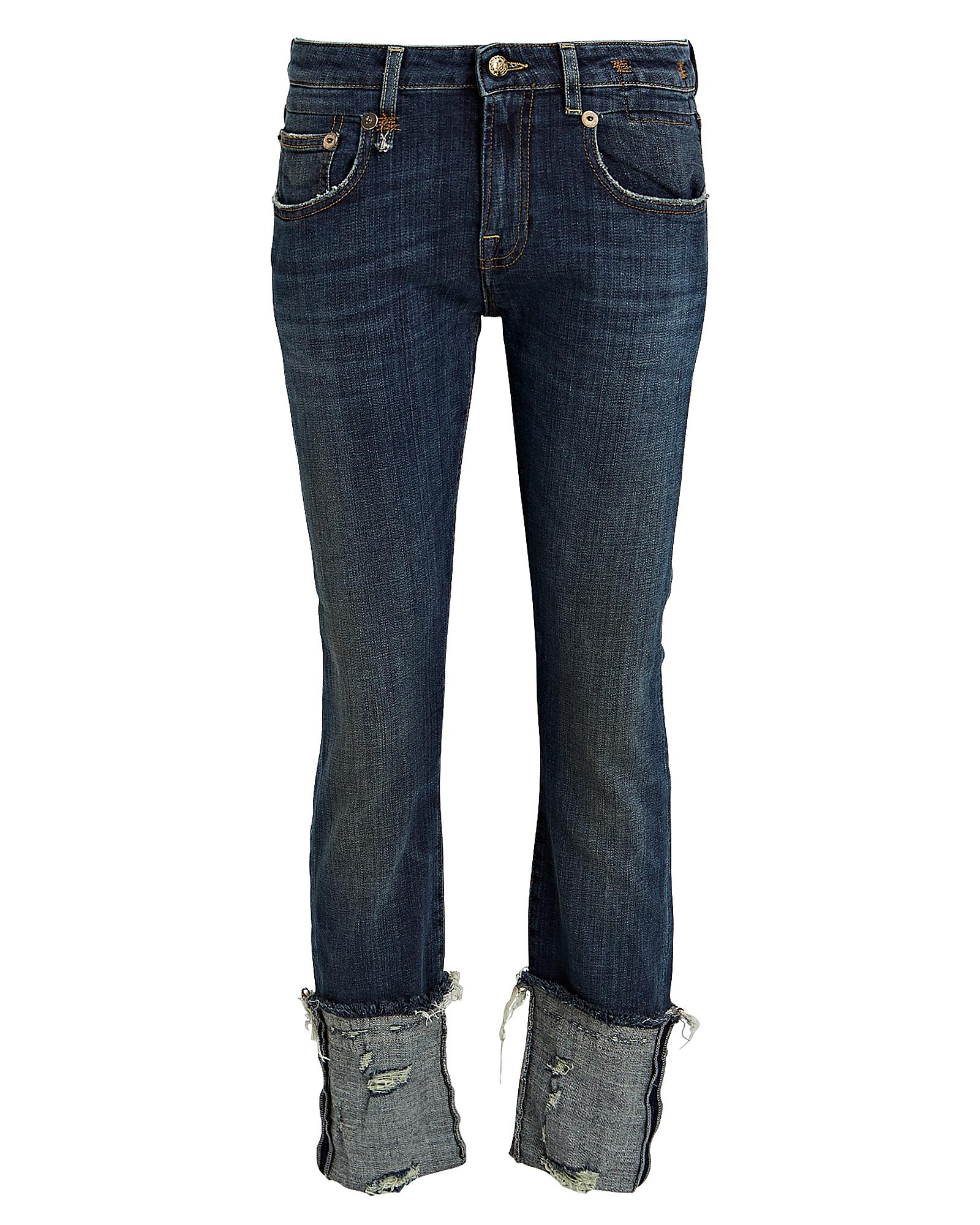 R13 Jeans R13 BOY CUFFED SKINNY JEANS