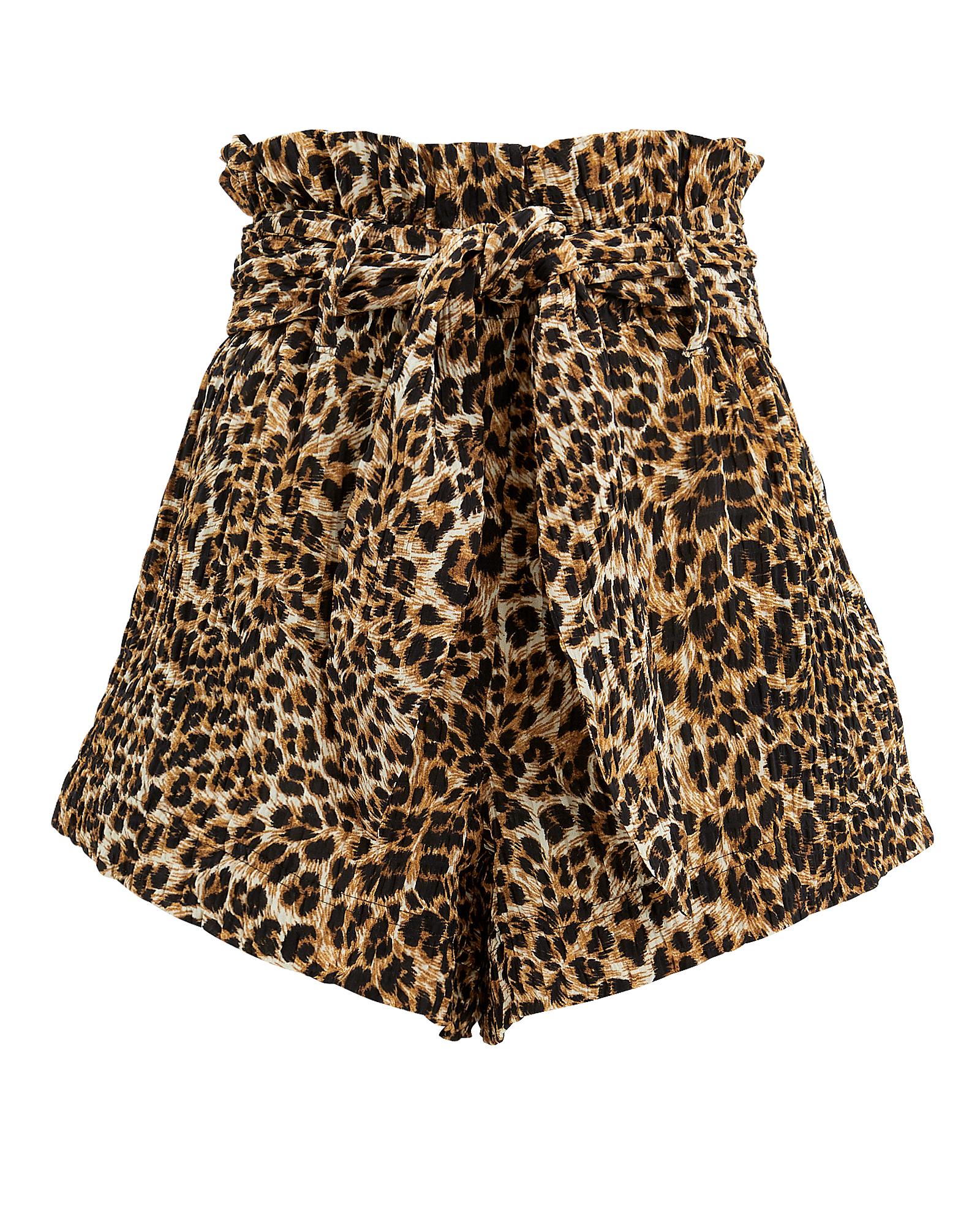 Nanushka Shorts Primrose Leopard Shorts